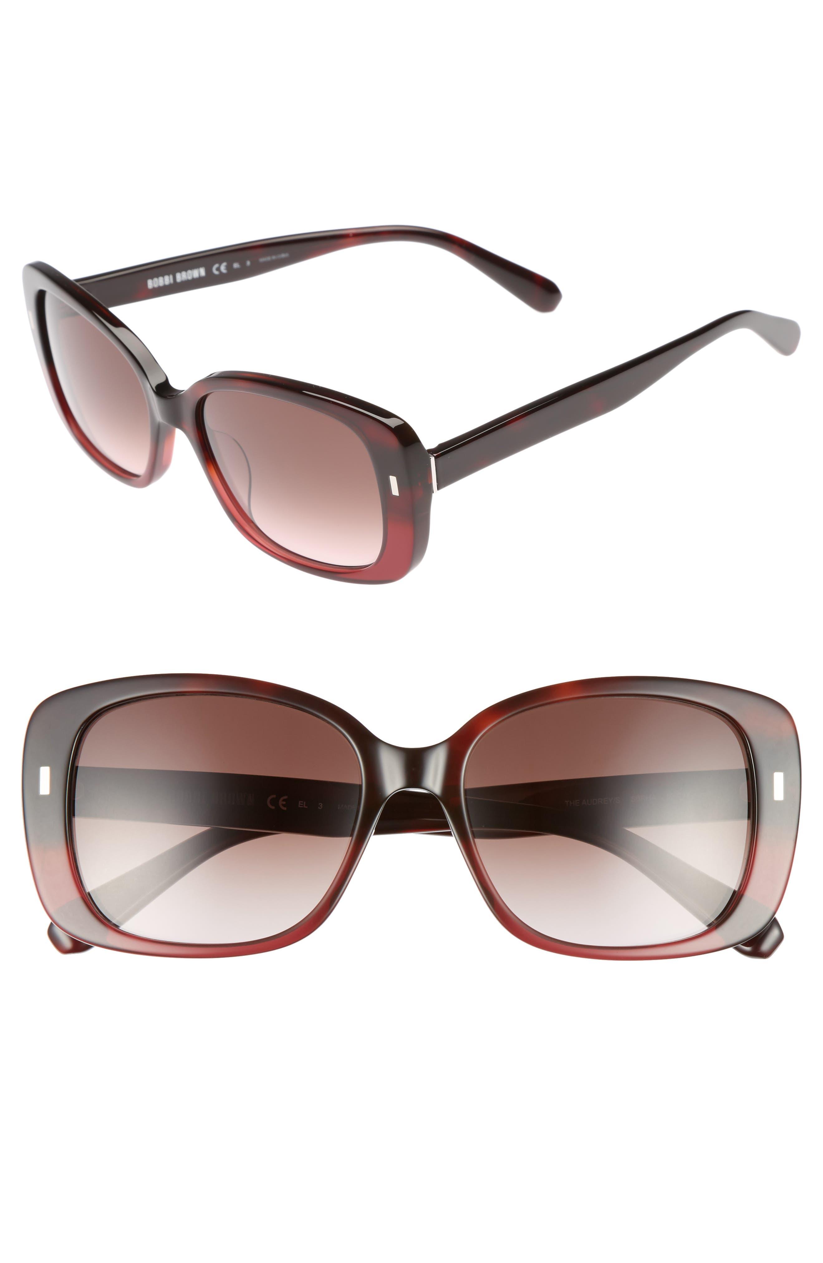 The Audrey 53mm Square Sunglasses,                             Main thumbnail 4, color,