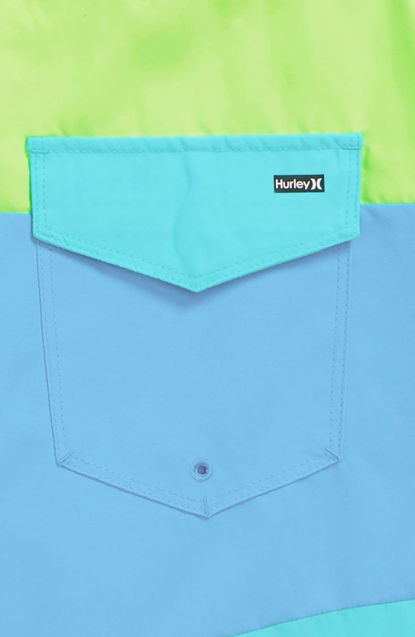 Triple Threat Board Shorts,                             Alternate thumbnail 3, color,                             361