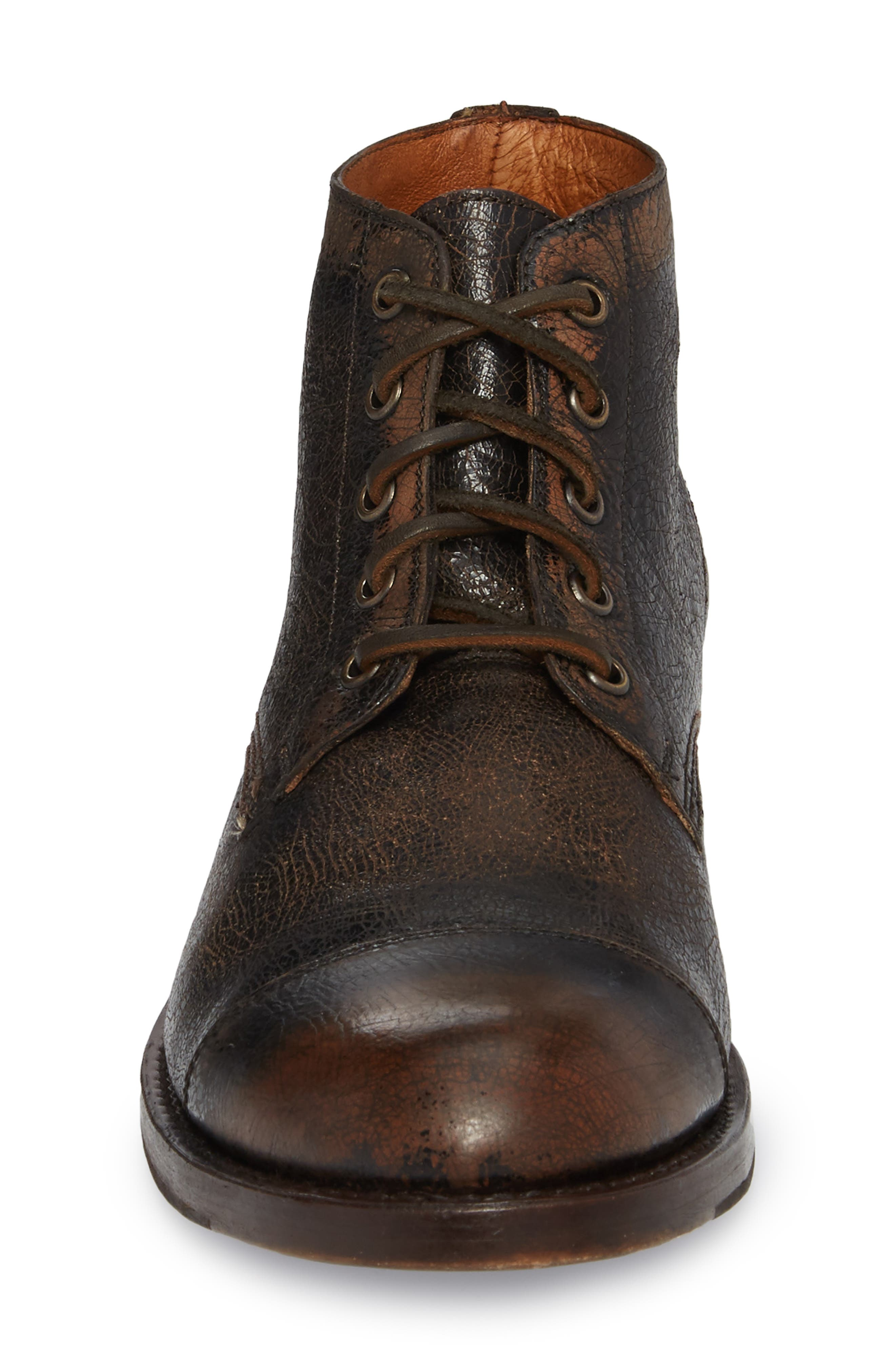Will Chukka Boot,                             Alternate thumbnail 4, color,                             DARK BROWN LEATHER