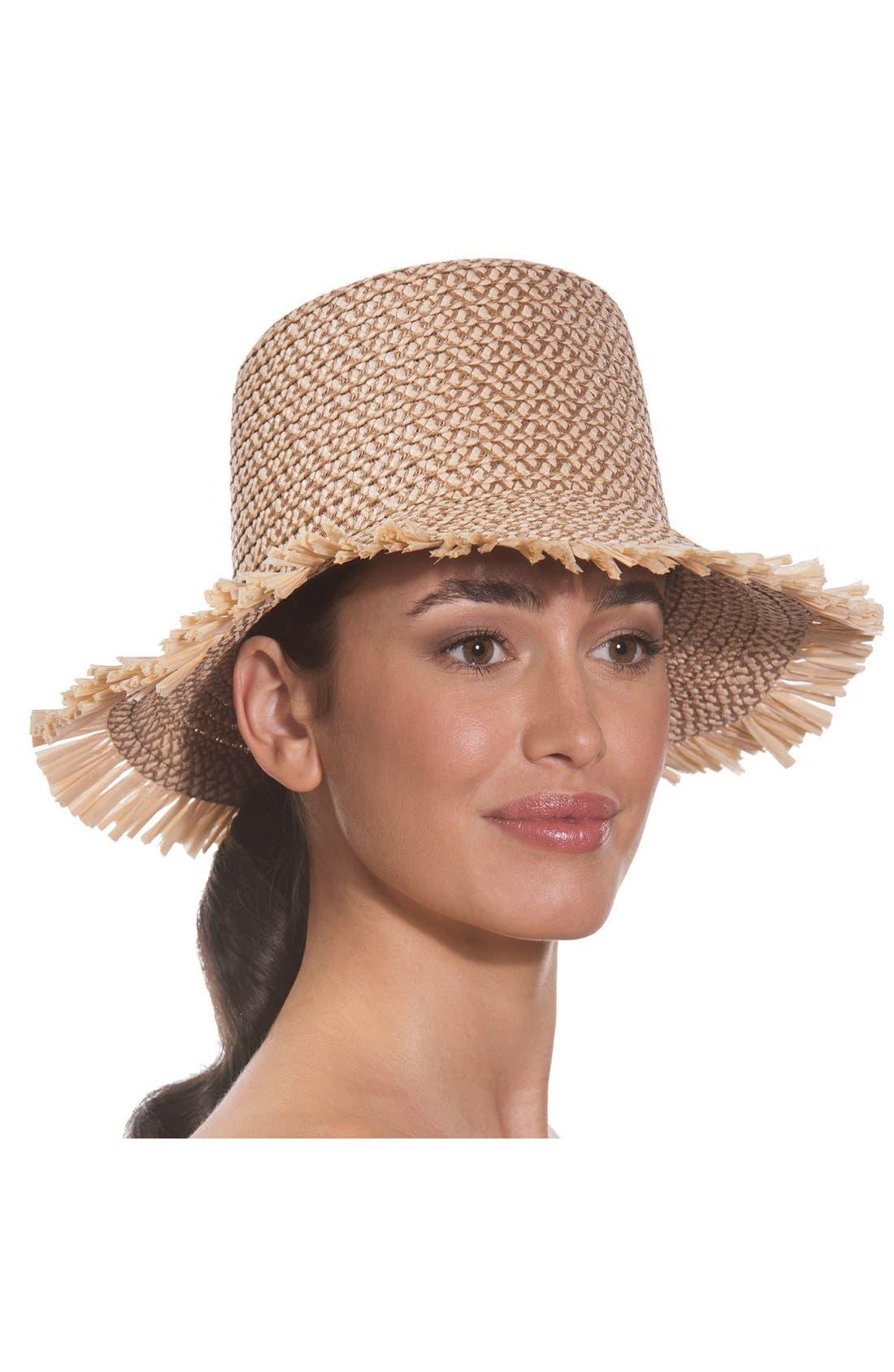 'Tiki' Bucket Hat,                             Alternate thumbnail 2, color,                             250
