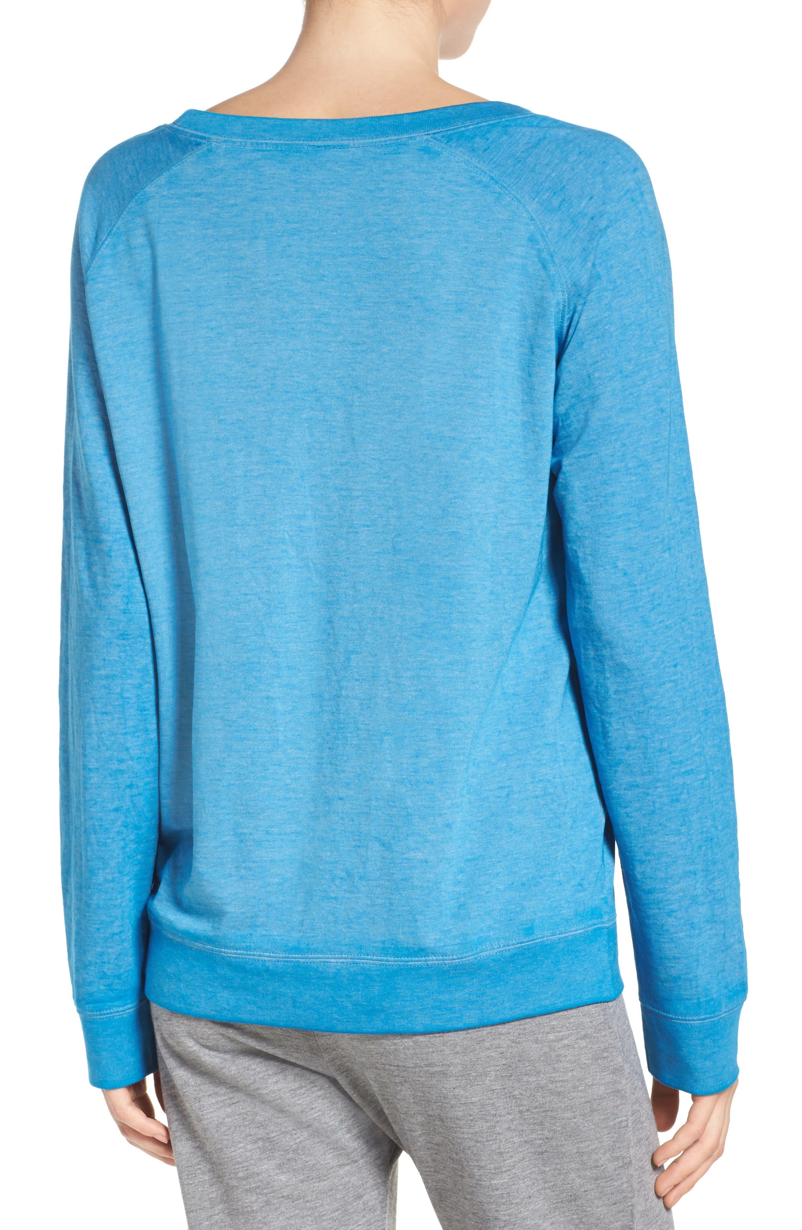Burnout Lounge Sweatshirt,                             Alternate thumbnail 107, color,