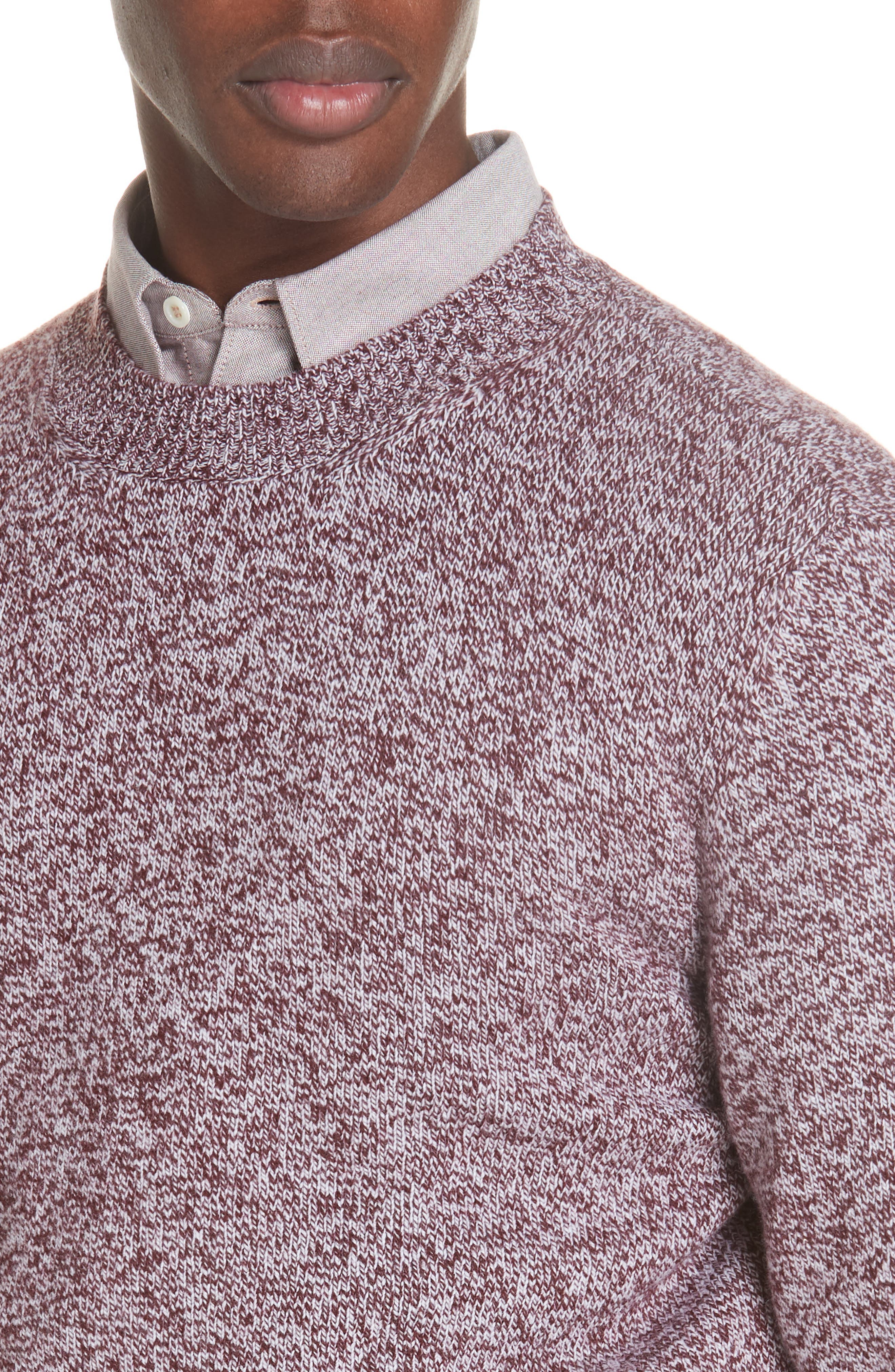 Marble Wool Sweater,                             Alternate thumbnail 4, color,                             602