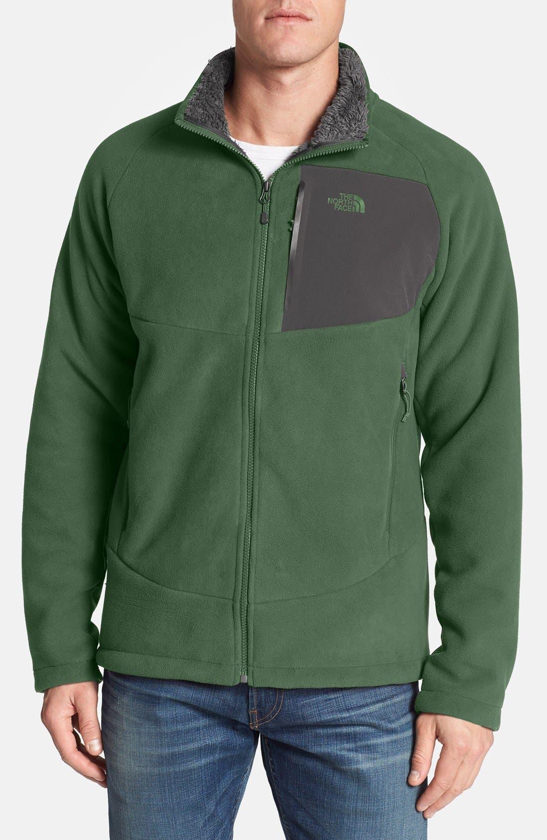 'Chimborazo' Zip Front Fleece Jacket,                             Main thumbnail 12, color,