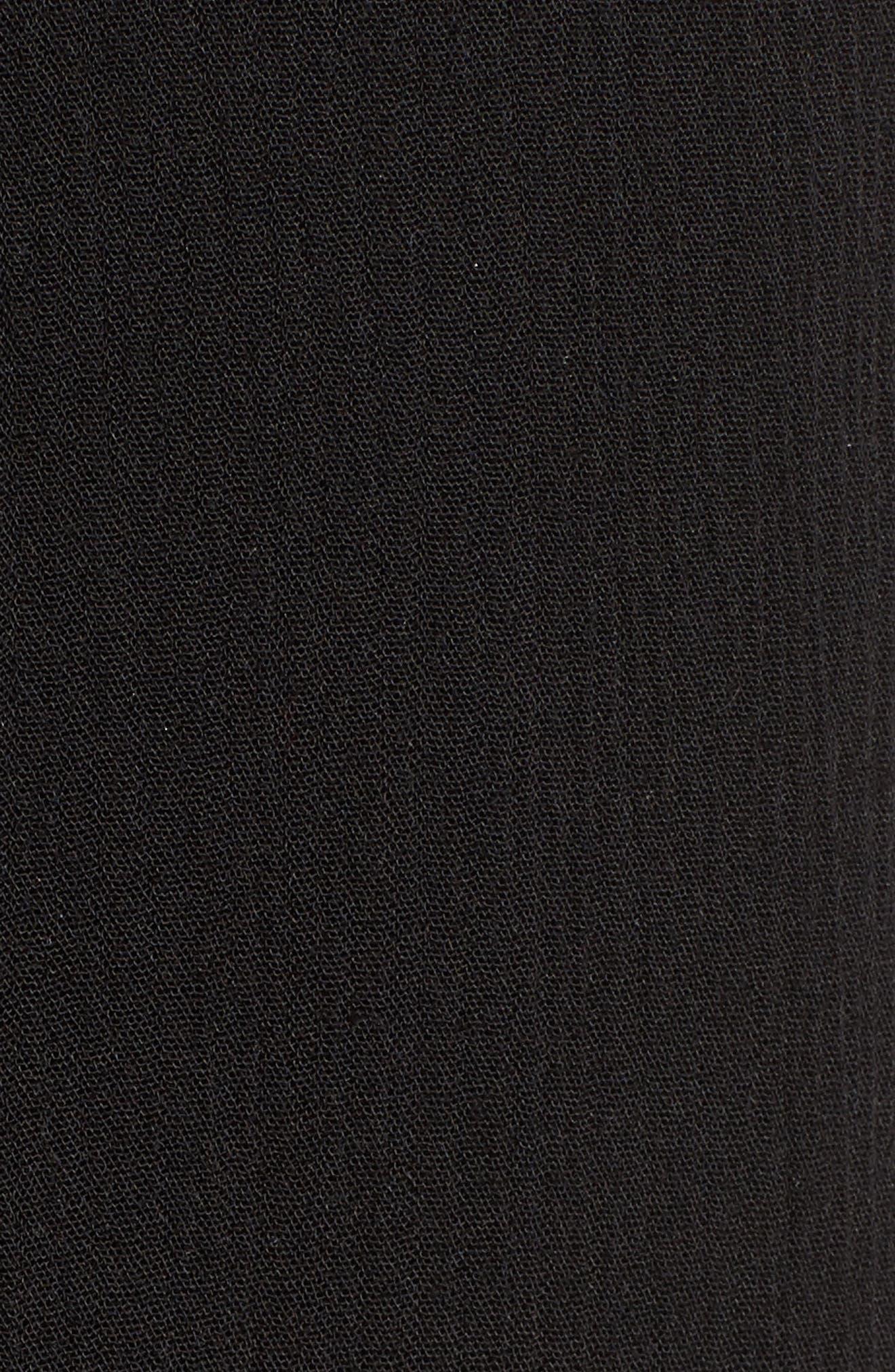 Slit Maxi Skirt,                             Alternate thumbnail 5, color,                             001