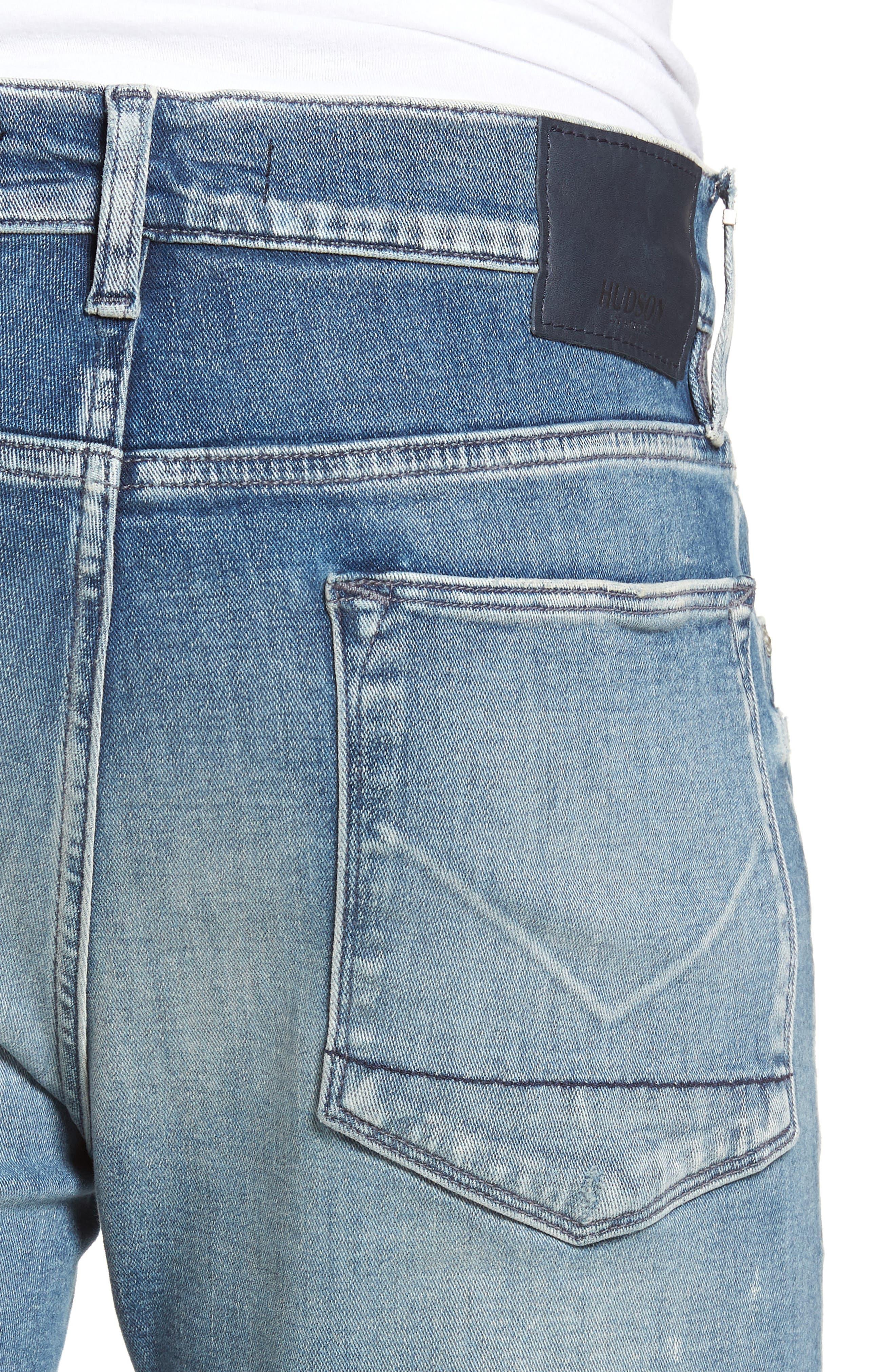 Zack Skinny Fit Jeans,                             Alternate thumbnail 4, color,                             MCNAB