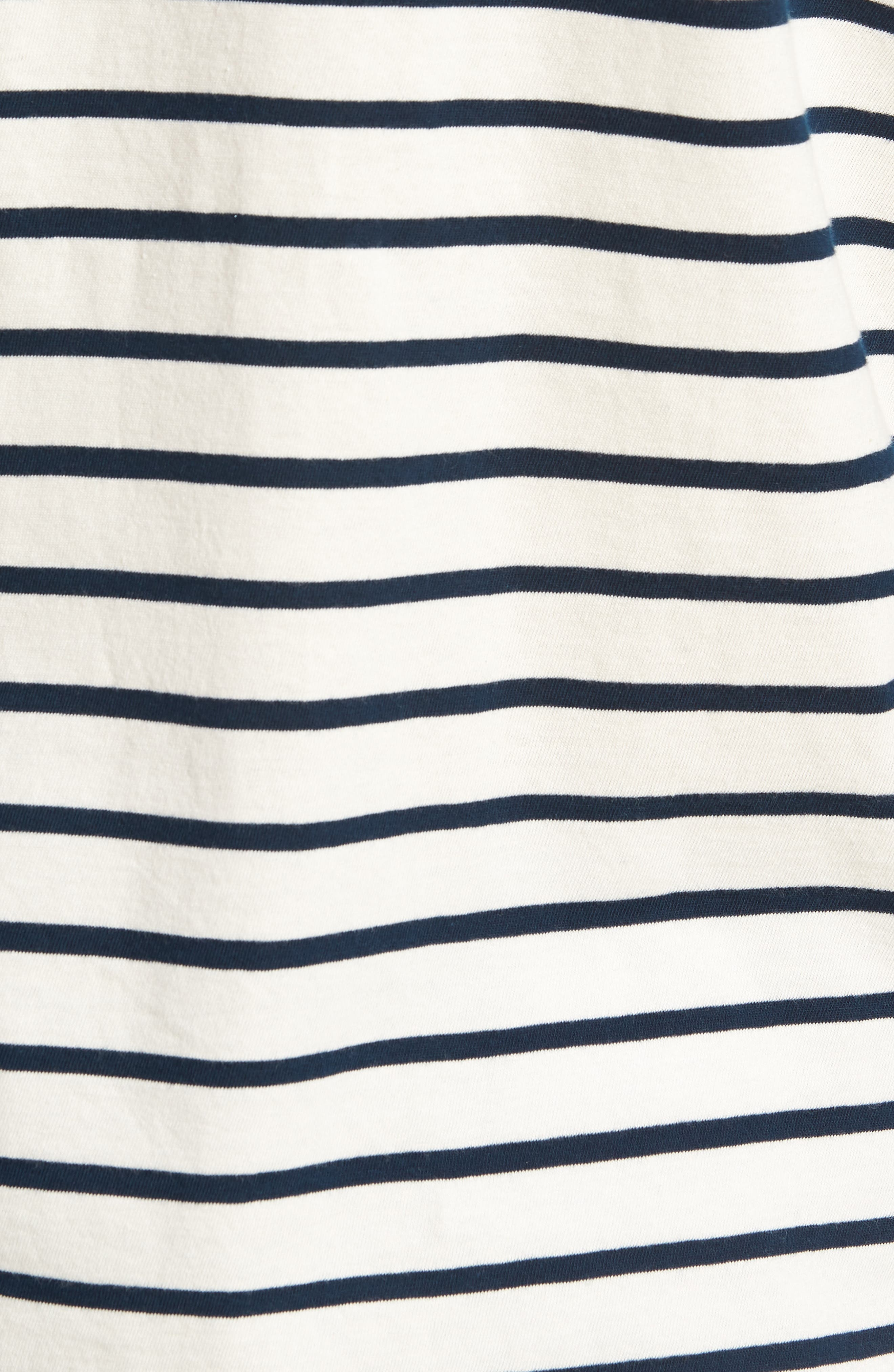 Mercantile Stripe Long Sleeve T-Shirt,                             Alternate thumbnail 5, color,                             100