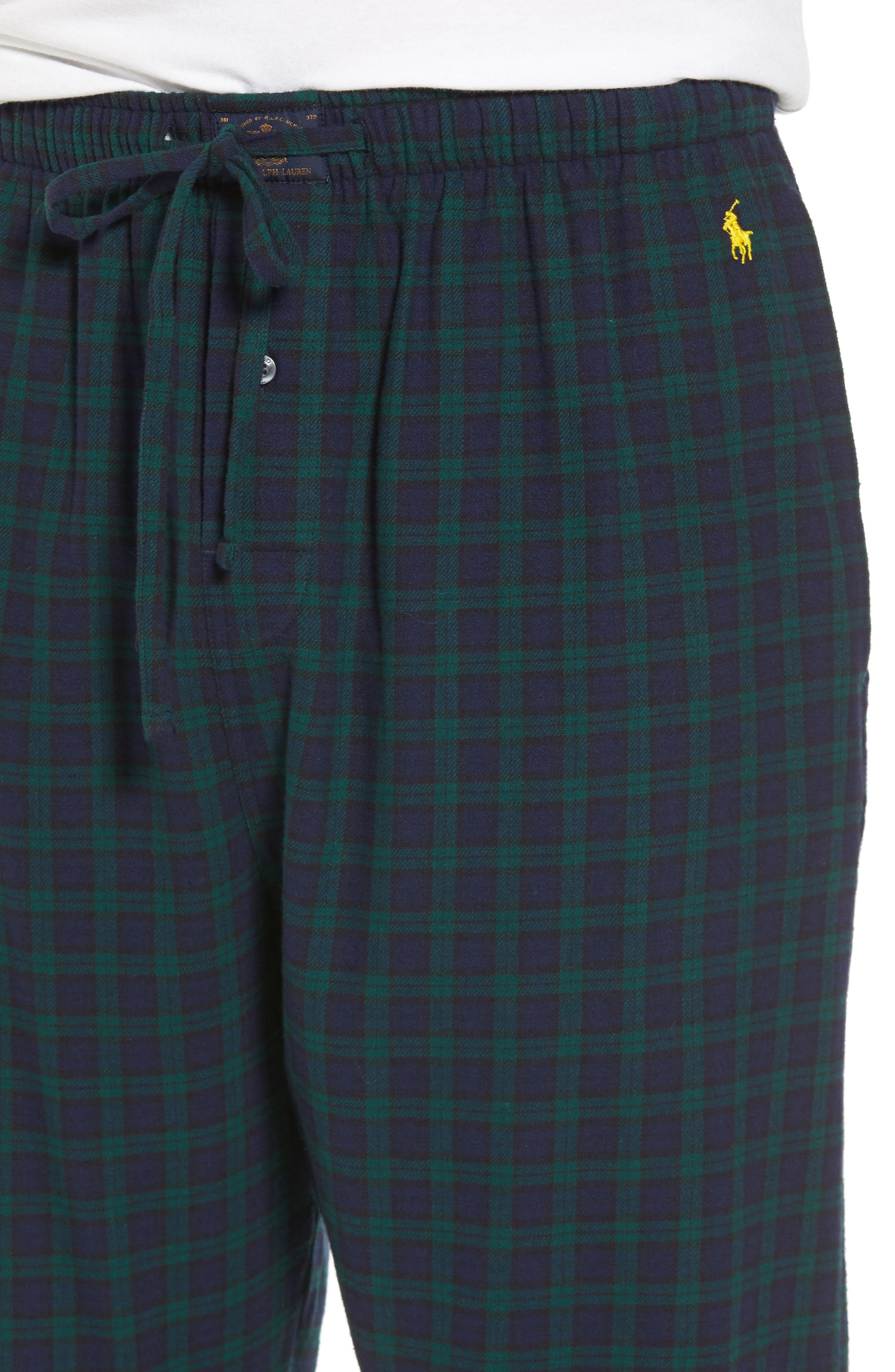 Flannel Pajama Pants,                             Alternate thumbnail 47, color,