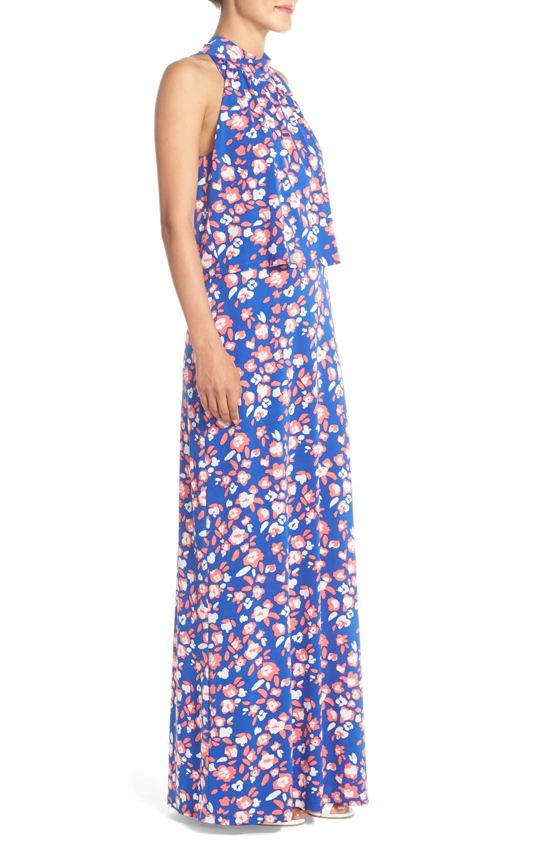 'Syler' Popover Jersey Maxi Dress,                             Alternate thumbnail 19, color,