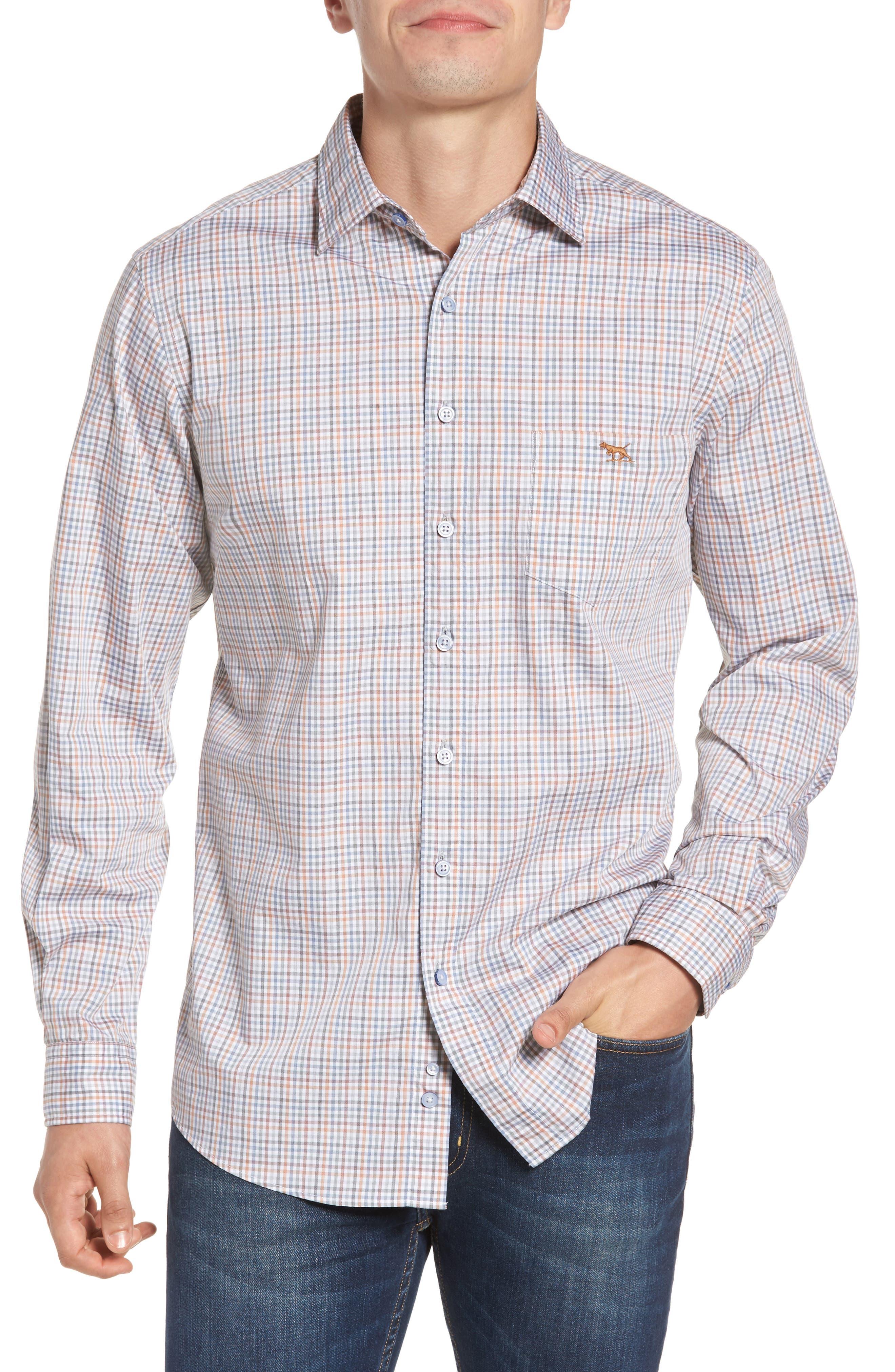 Woodlaw Original Fit Check Sport Shirt,                         Main,                         color,