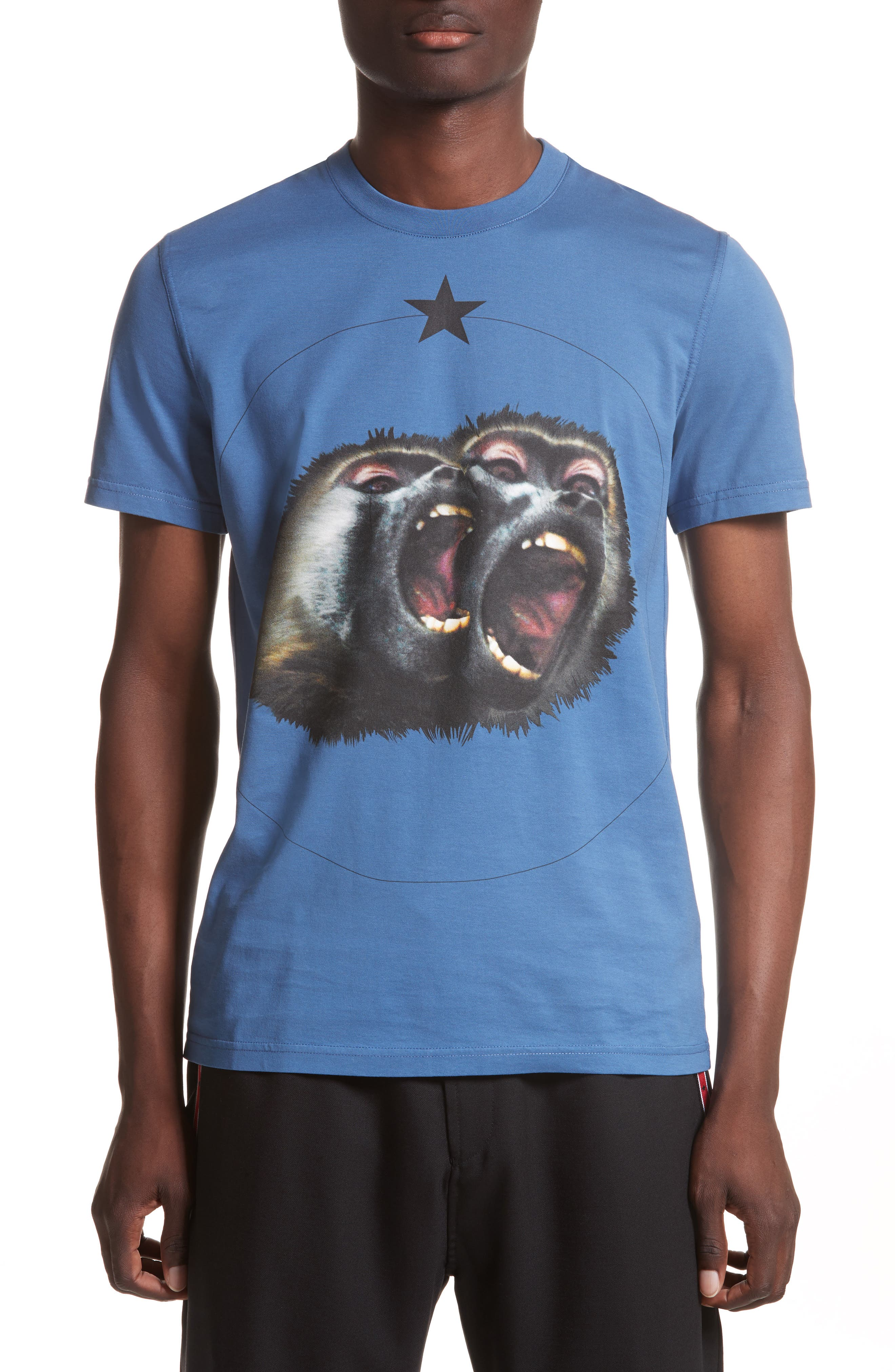 Cuban Fit Monkey Brothers Graphic T-Shirt,                             Main thumbnail 3, color,
