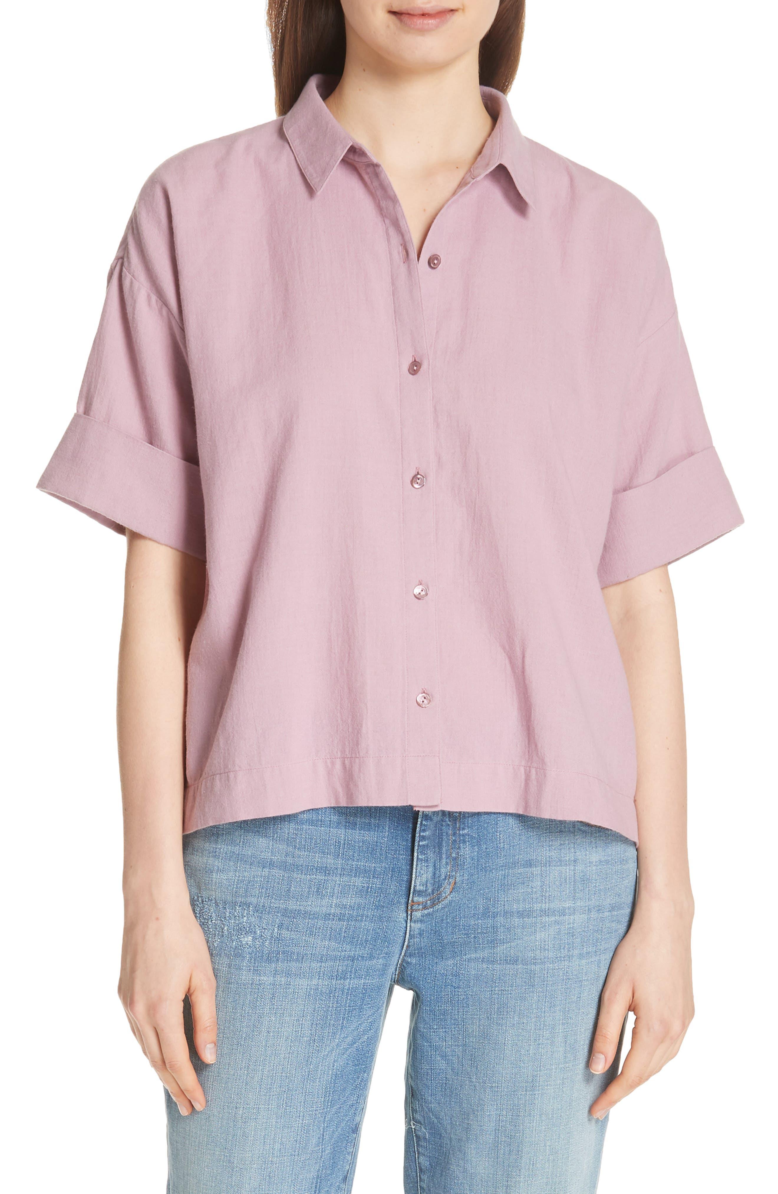 Classic Boxy Shirt,                             Main thumbnail 2, color,