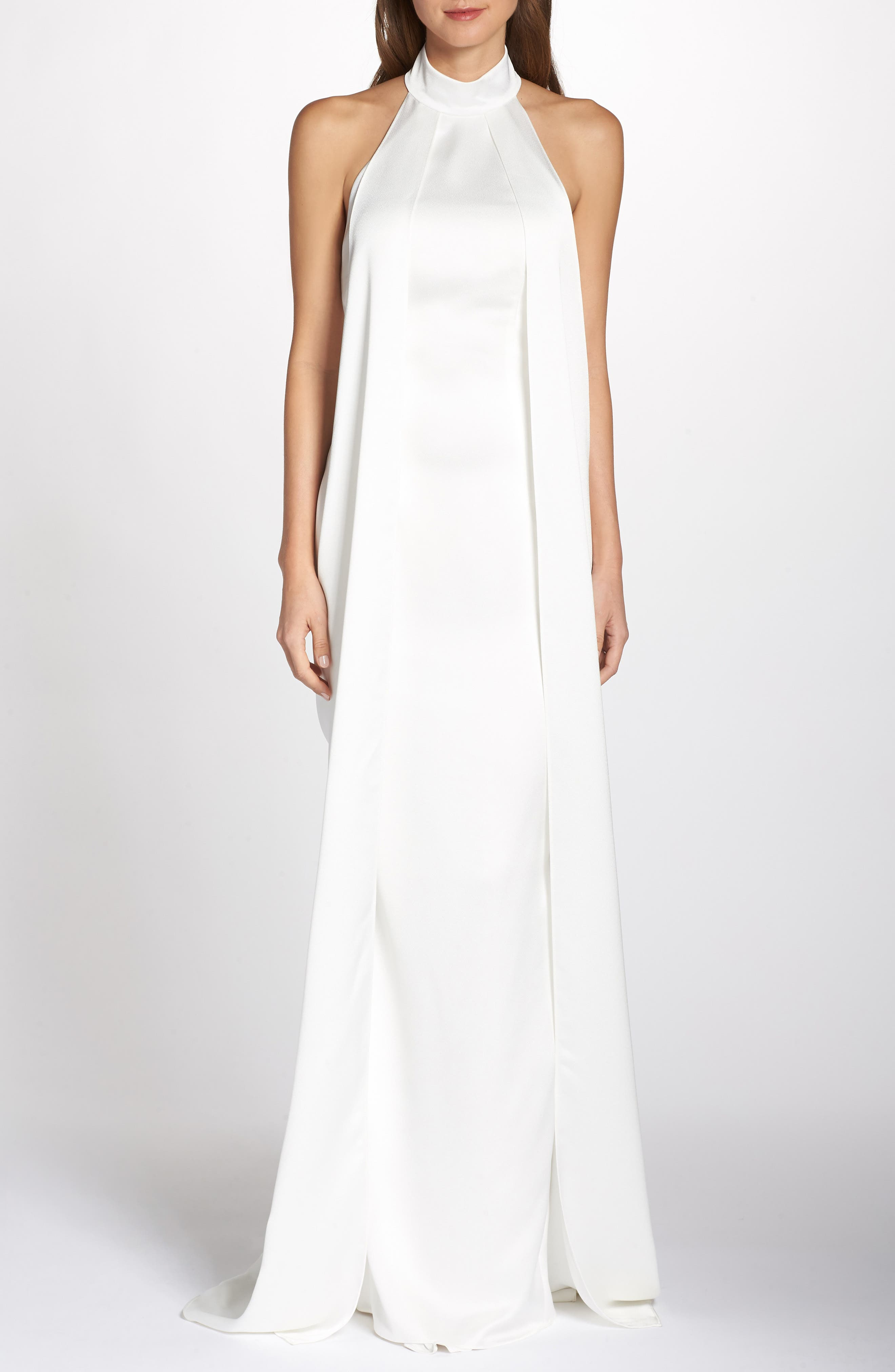 Noel And Jean By Katie May Landmark Halter Wedding Dress, Ivory