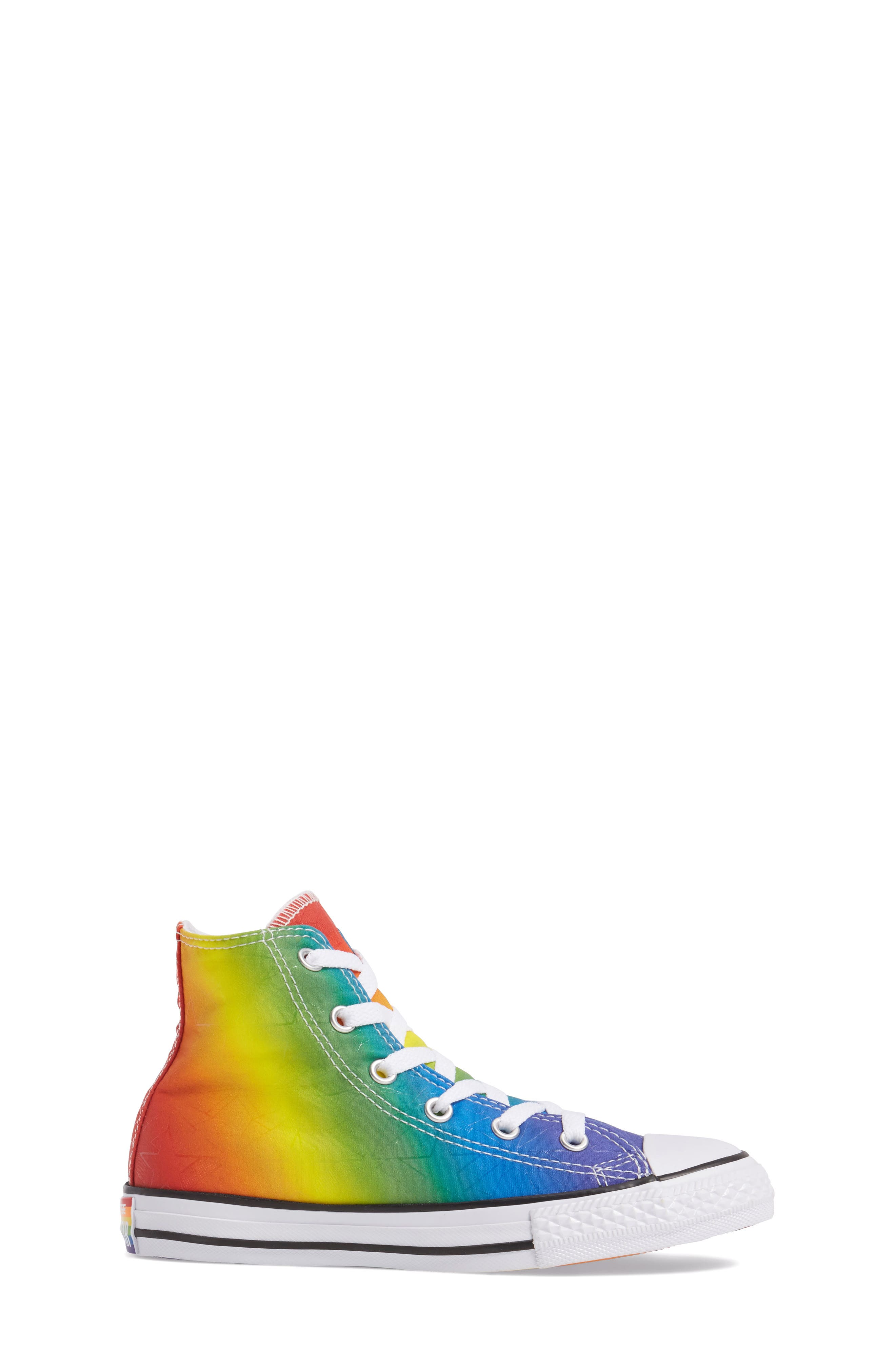 Chuck Taylor<sup>®</sup> All Star<sup>®</sup> Pride High Top Sneaker,                             Alternate thumbnail 3, color,                             400