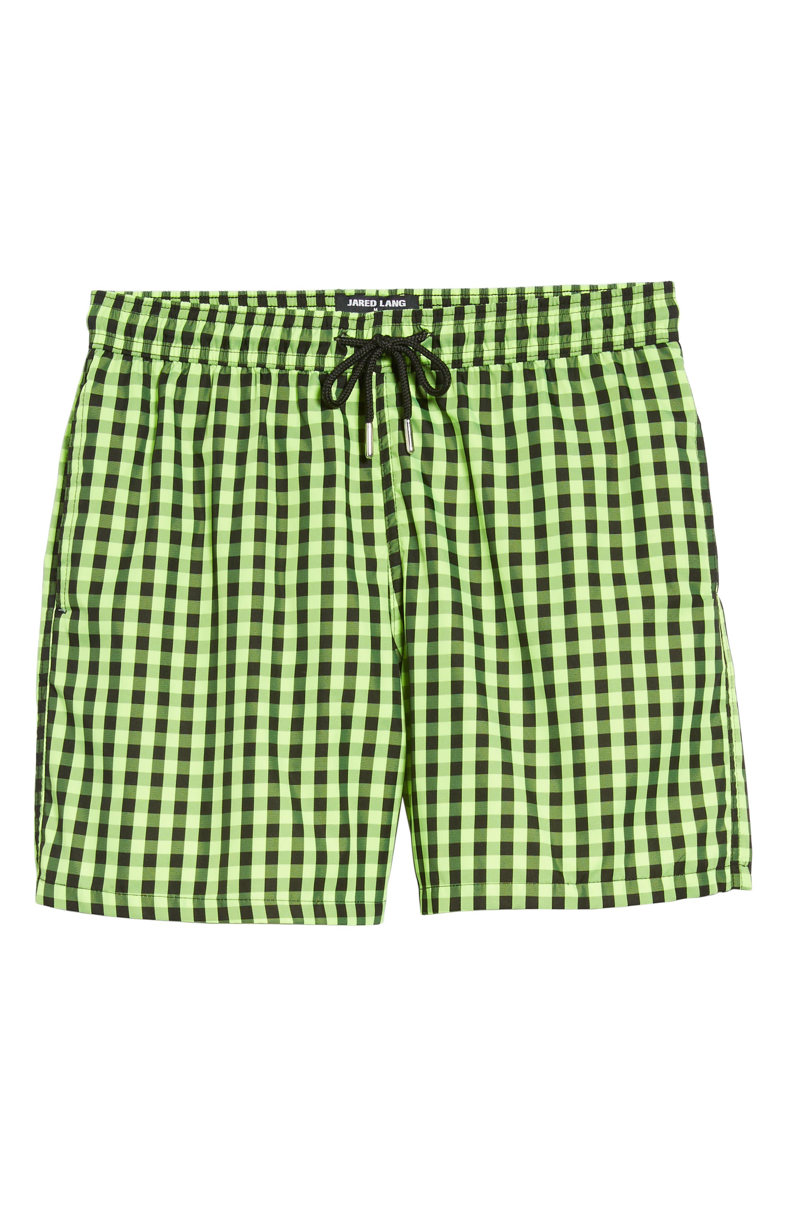 Trim Fit Swim Shorts,                             Alternate thumbnail 6, color,                             300