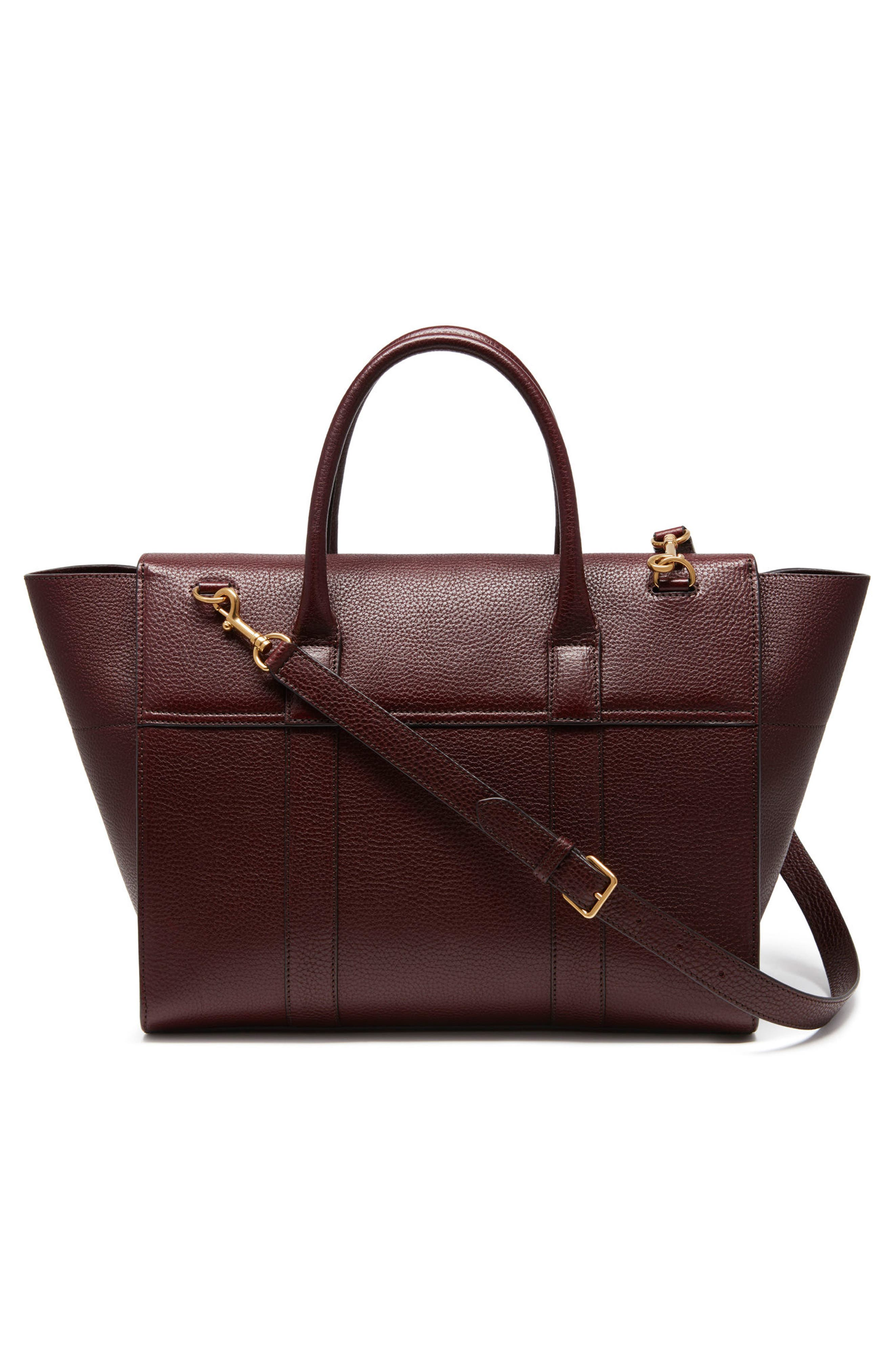 Bayswater Calfskin Leather Satchel,                             Alternate thumbnail 2, color,