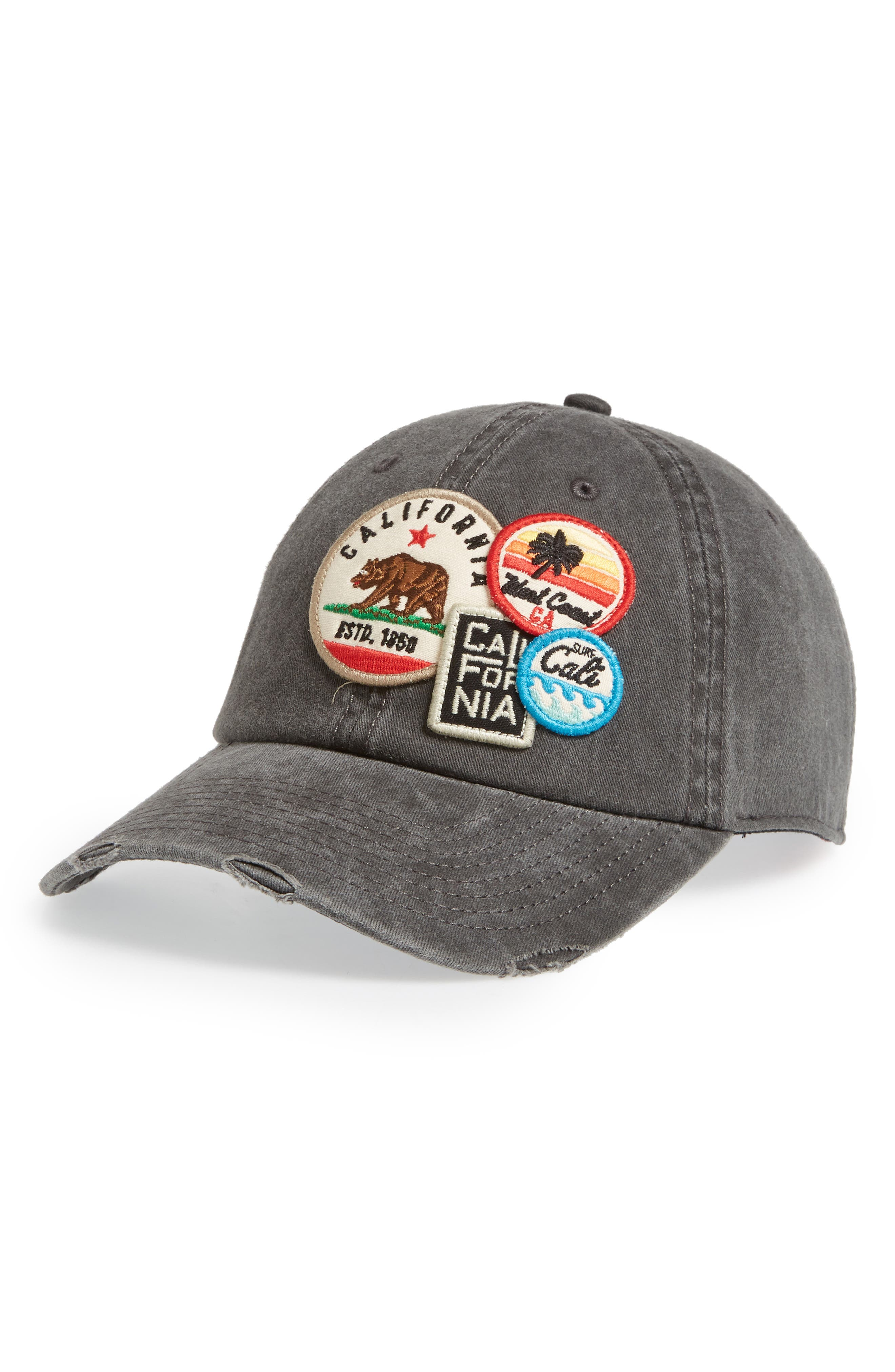 Iconic California Ball Cap,                             Main thumbnail 1, color,