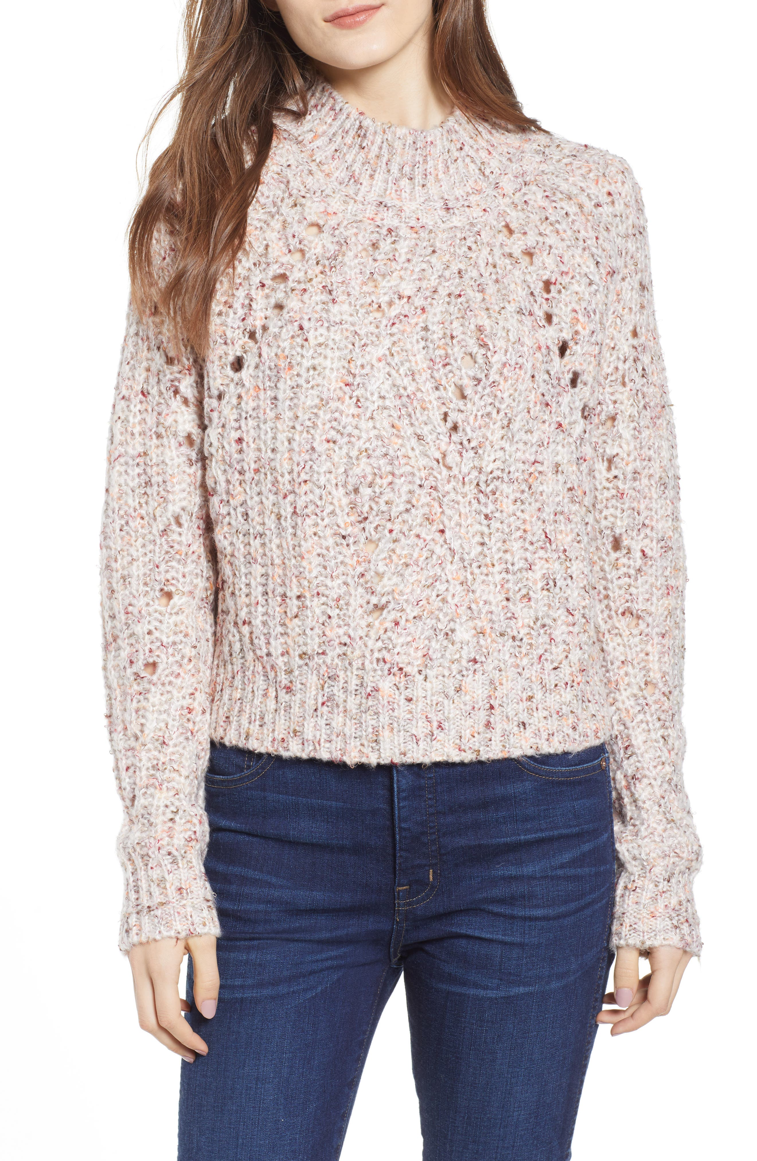 Heartloom Mally Sweater, Pink