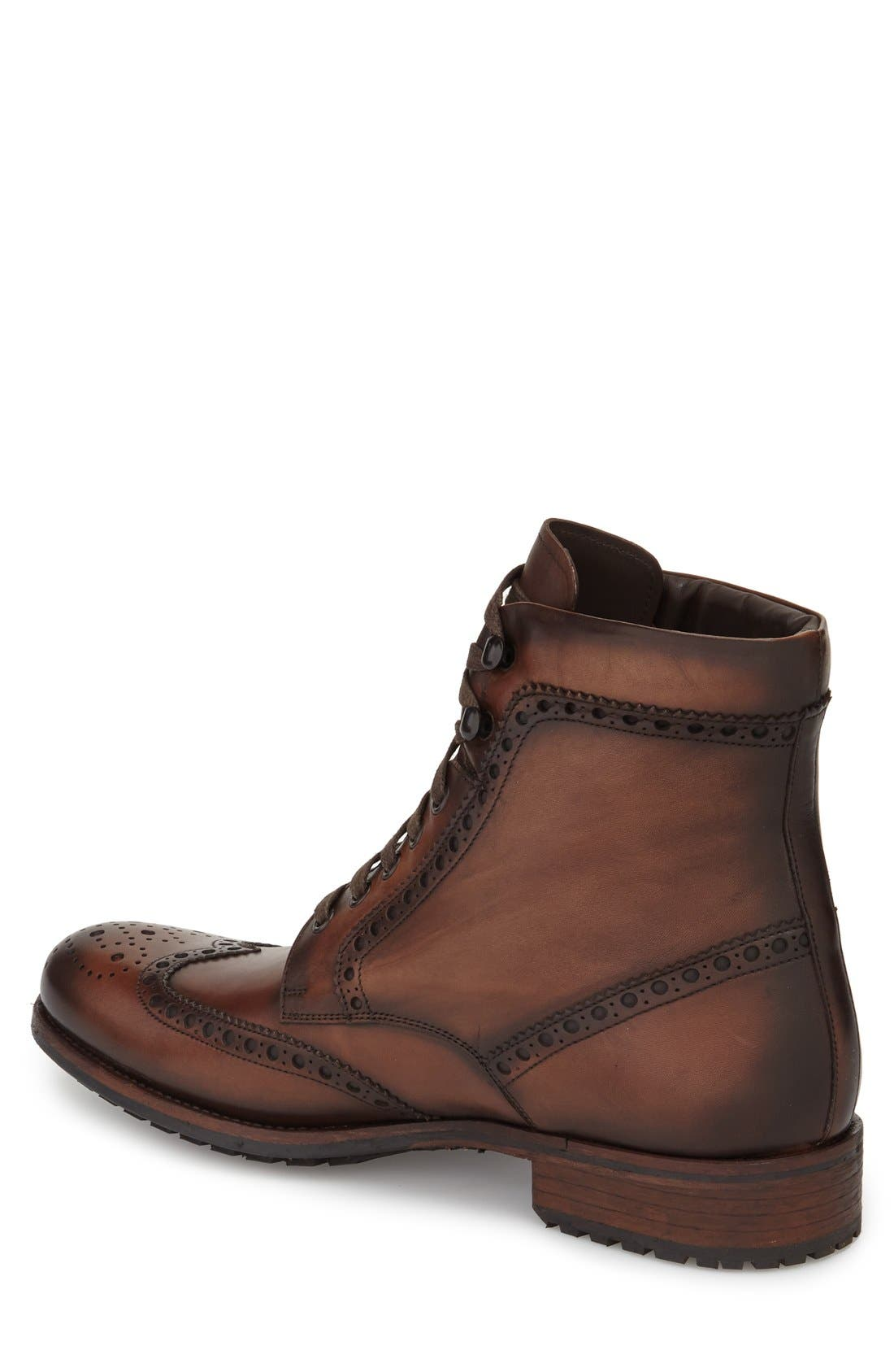 Maddox Wingtip Boot,                             Alternate thumbnail 5, color,