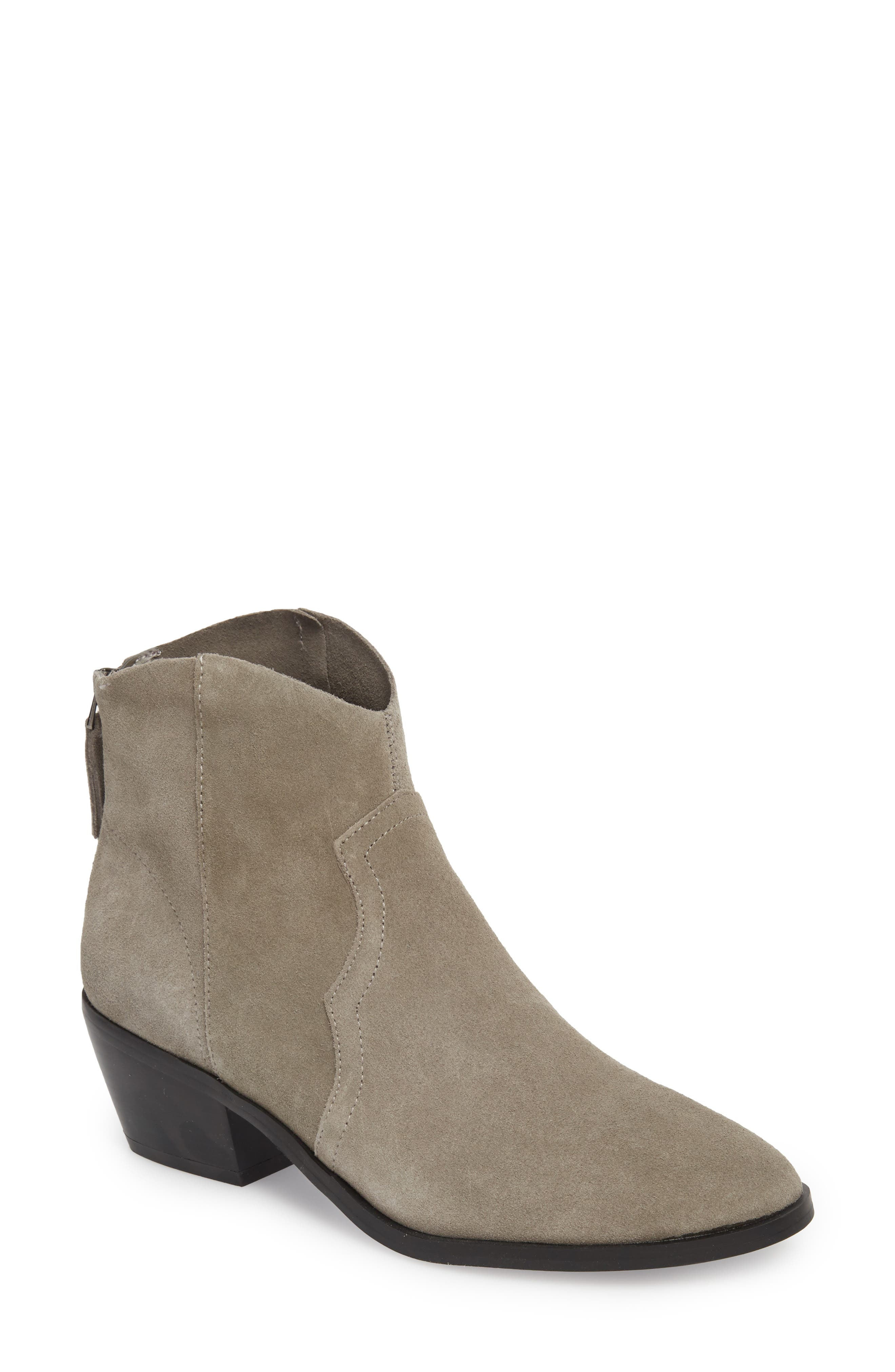 Betty Western Bootie,                             Main thumbnail 1, color,                             GREY