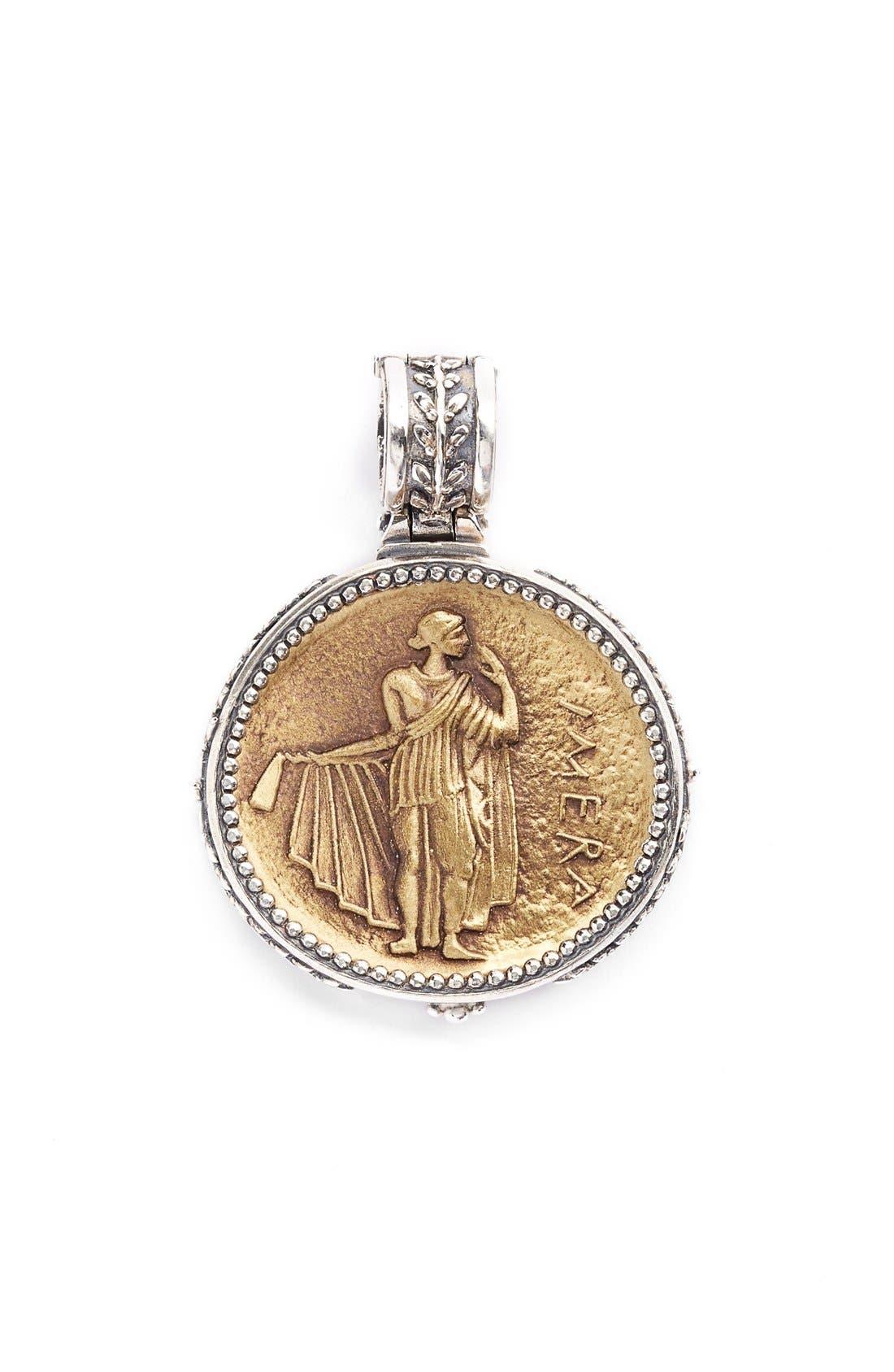'Pelopidas' Coin Pendant,                         Main,                         color, 040