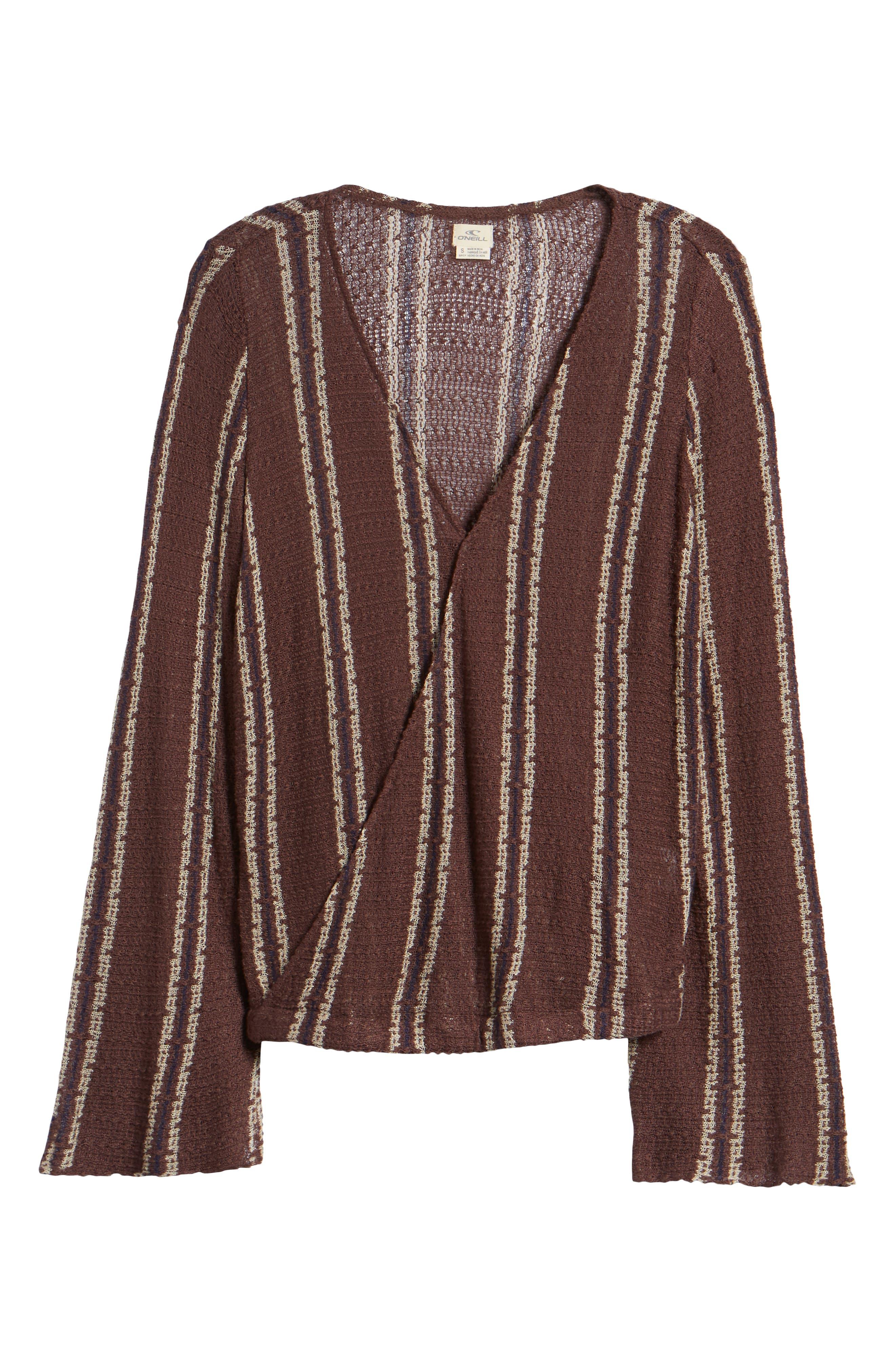 Sims Stripe Sweater,                             Alternate thumbnail 13, color,