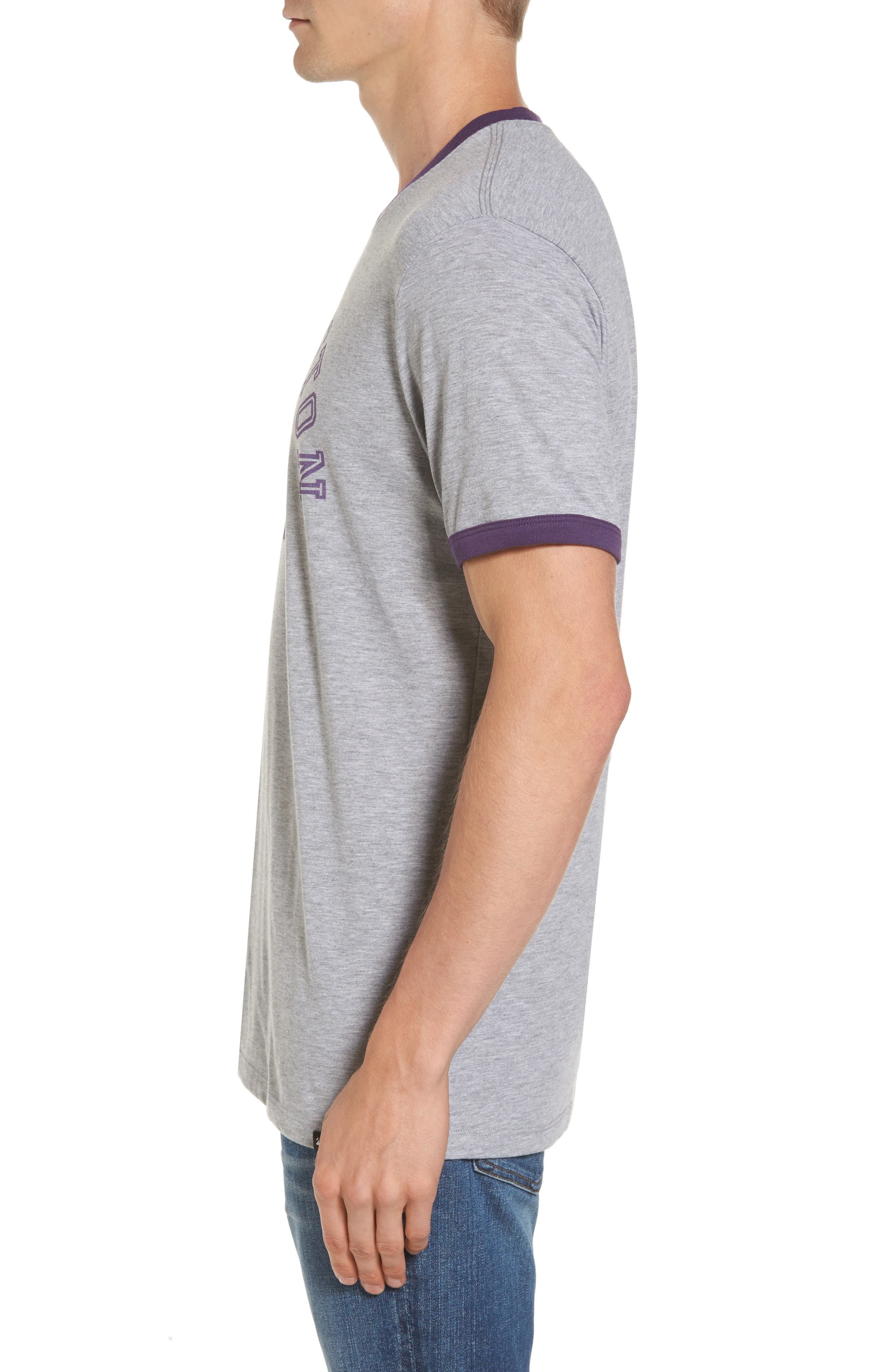 University of Washington Huskies Ringer T-Shirt,                             Alternate thumbnail 3, color,                             020