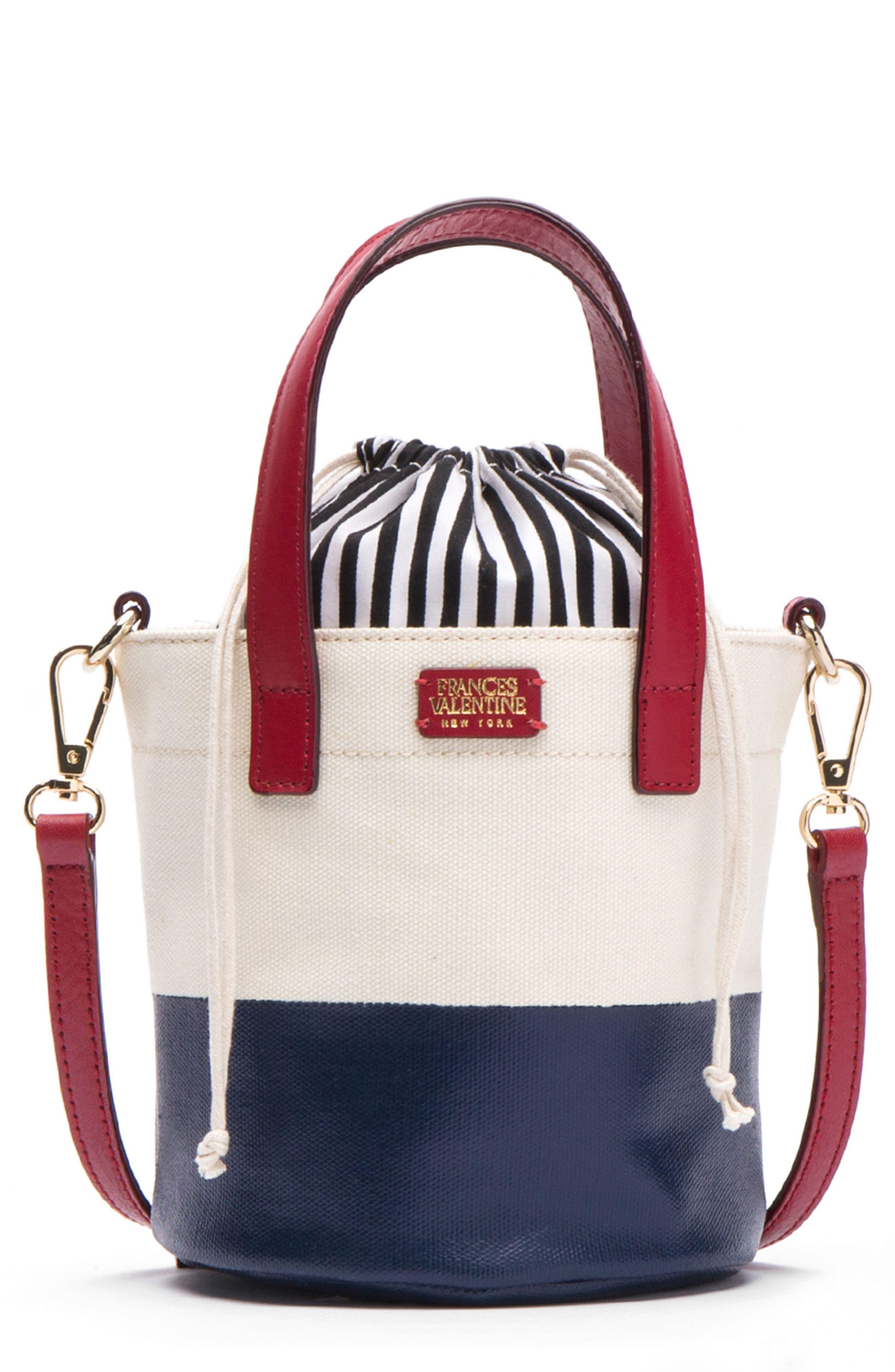 Small Canvas Bucket Bag,                             Main thumbnail 3, color,