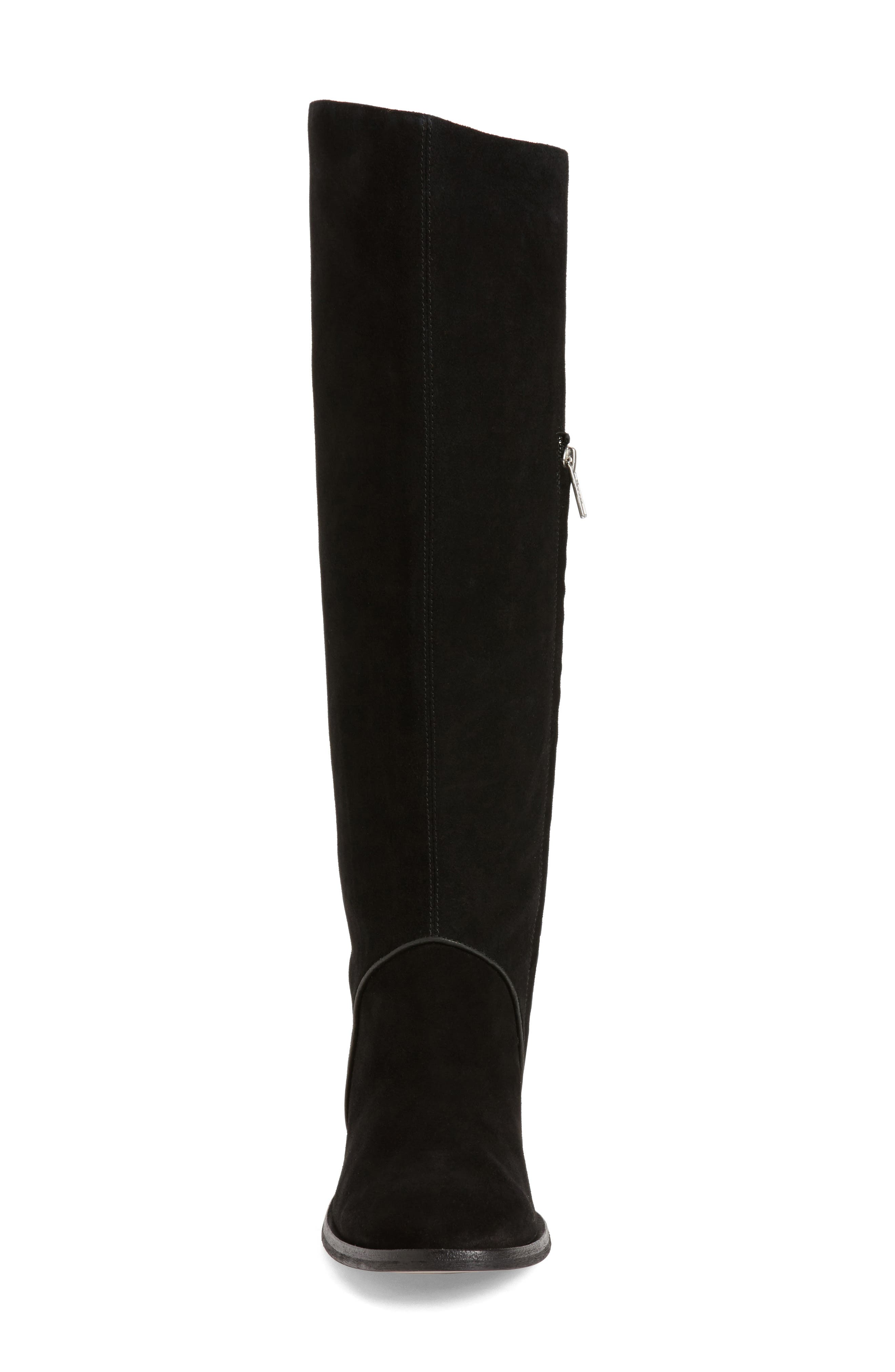 Daley Tall Boot,                             Alternate thumbnail 4, color,                             001