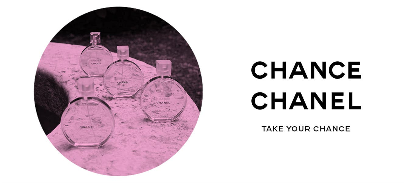 CHANEL Chance fragrance for women.