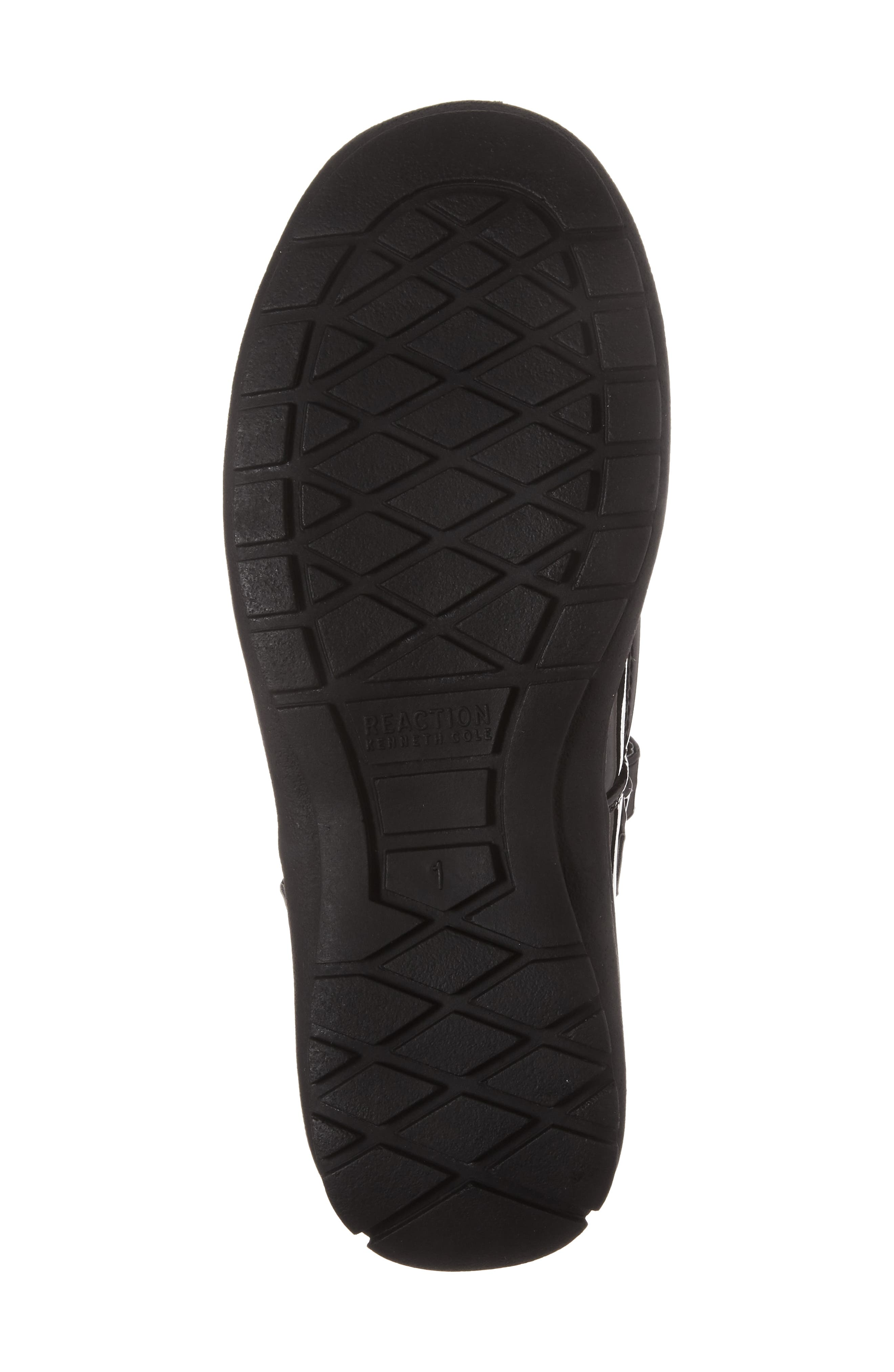 Dolly School Mary Jane,                             Alternate thumbnail 6, color,                             BLACK FAUX PATENT