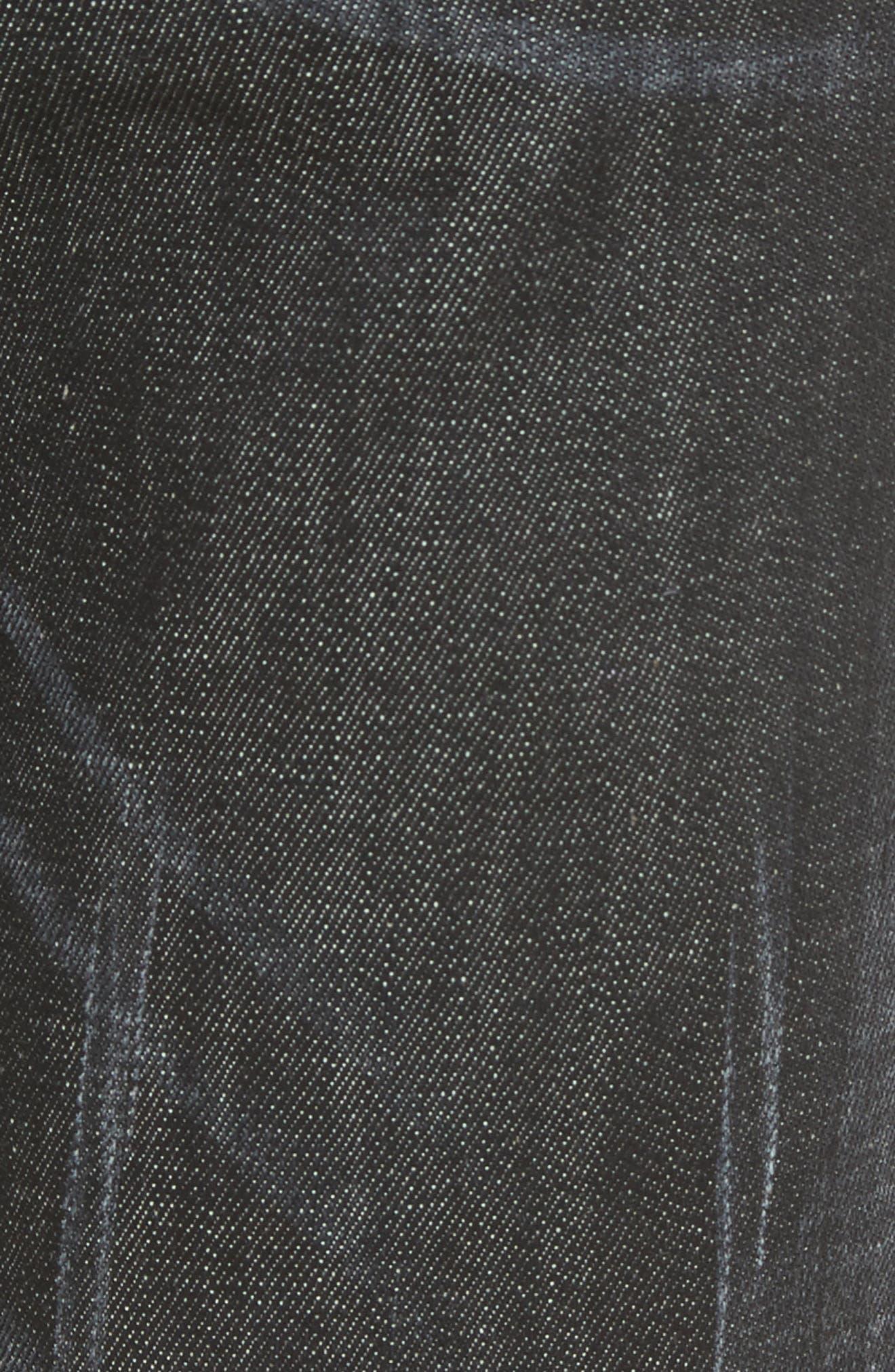 Blue Simplice City Biker Jeans,                             Alternate thumbnail 5, color,