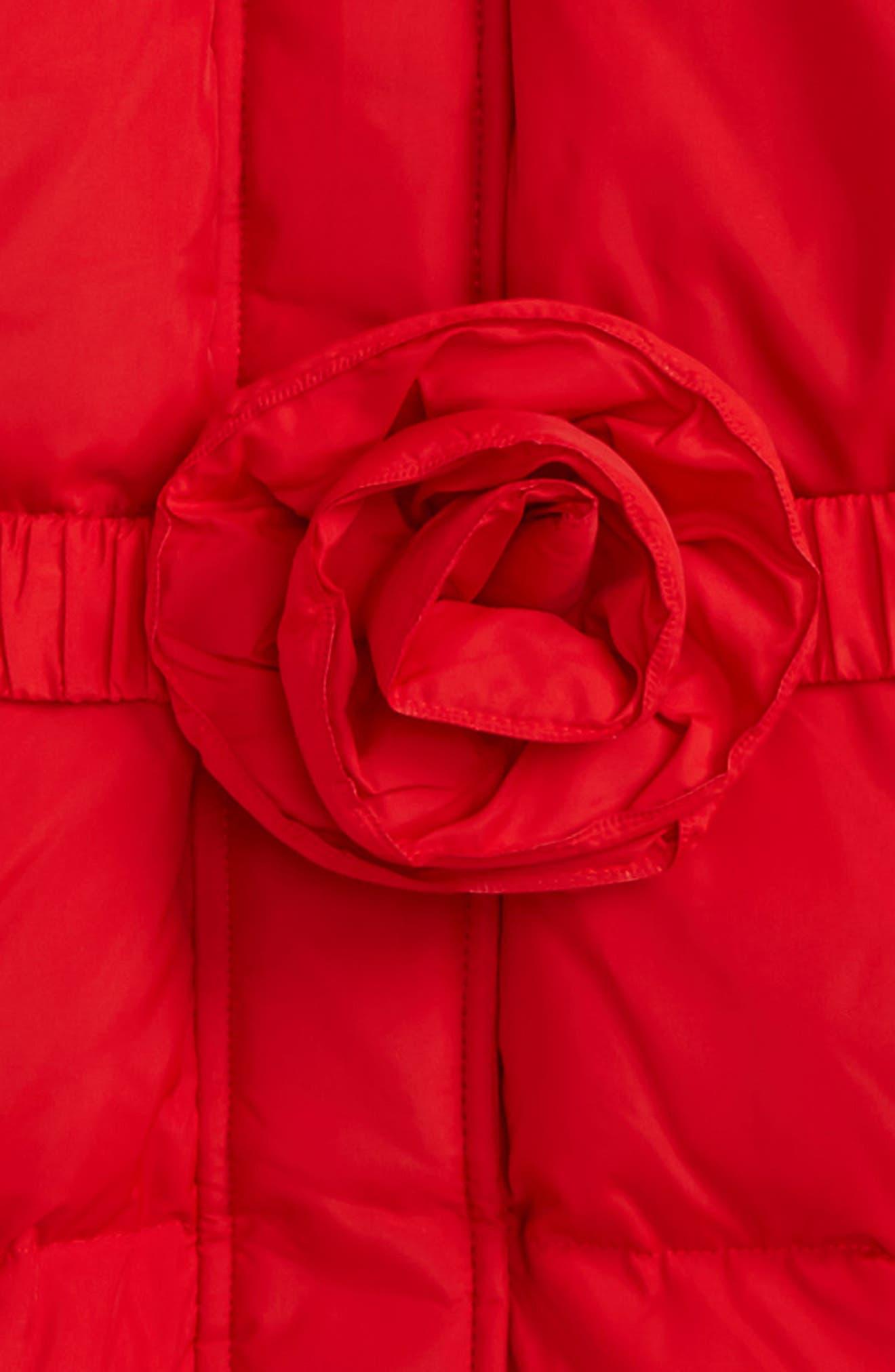 rosette down puffer jacket,                             Alternate thumbnail 2, color,                             610