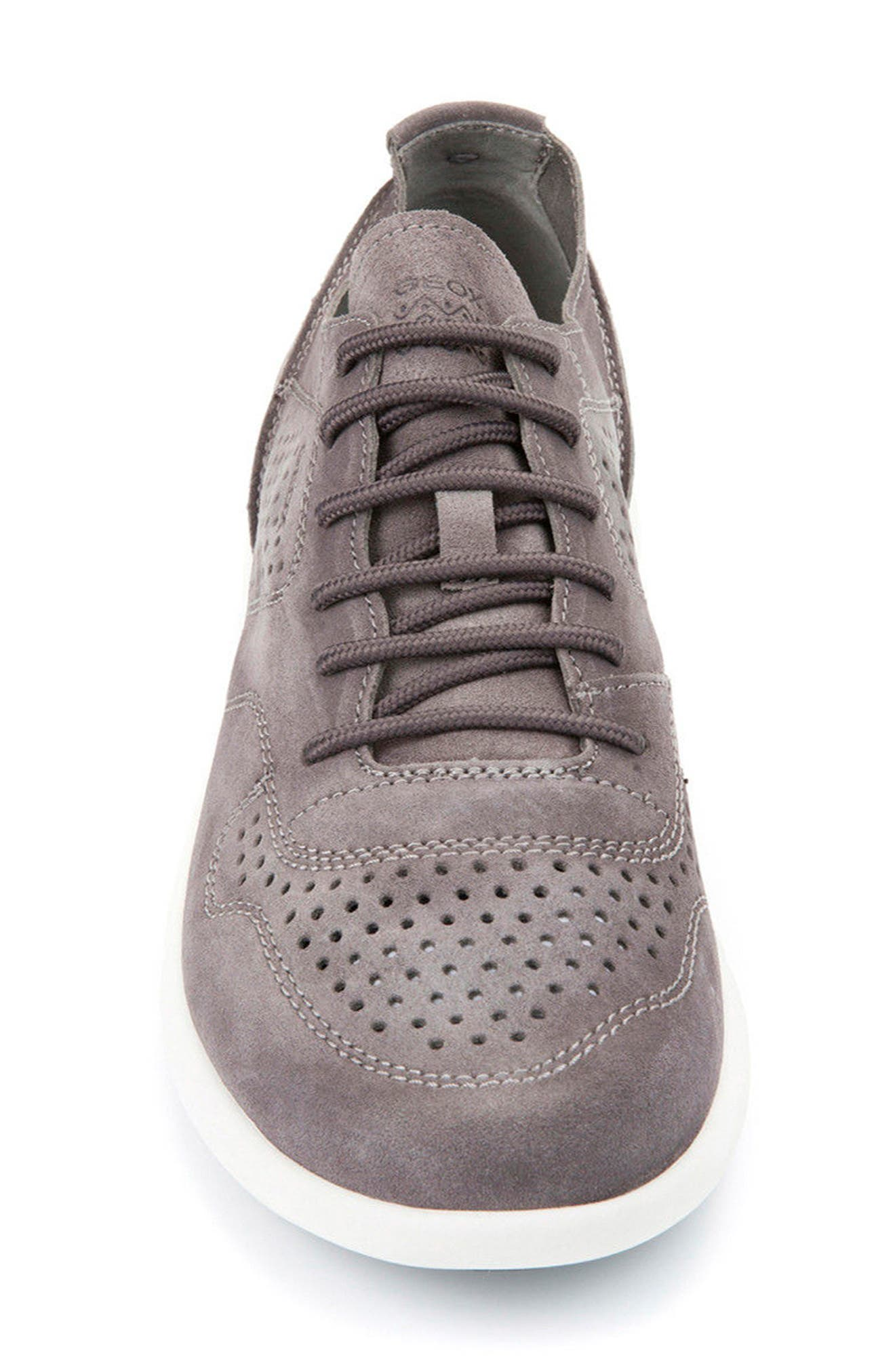 Brattley 2 Perforated Sneaker,                             Alternate thumbnail 4, color,                             020