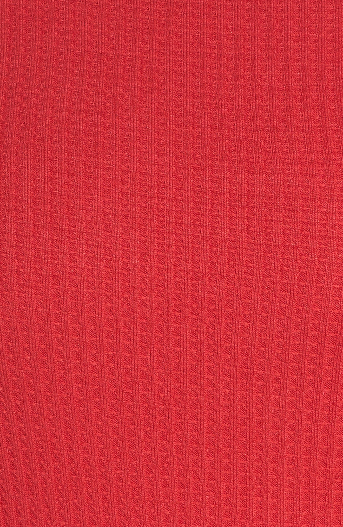 Waffle Thermal Top,                             Alternate thumbnail 10, color,