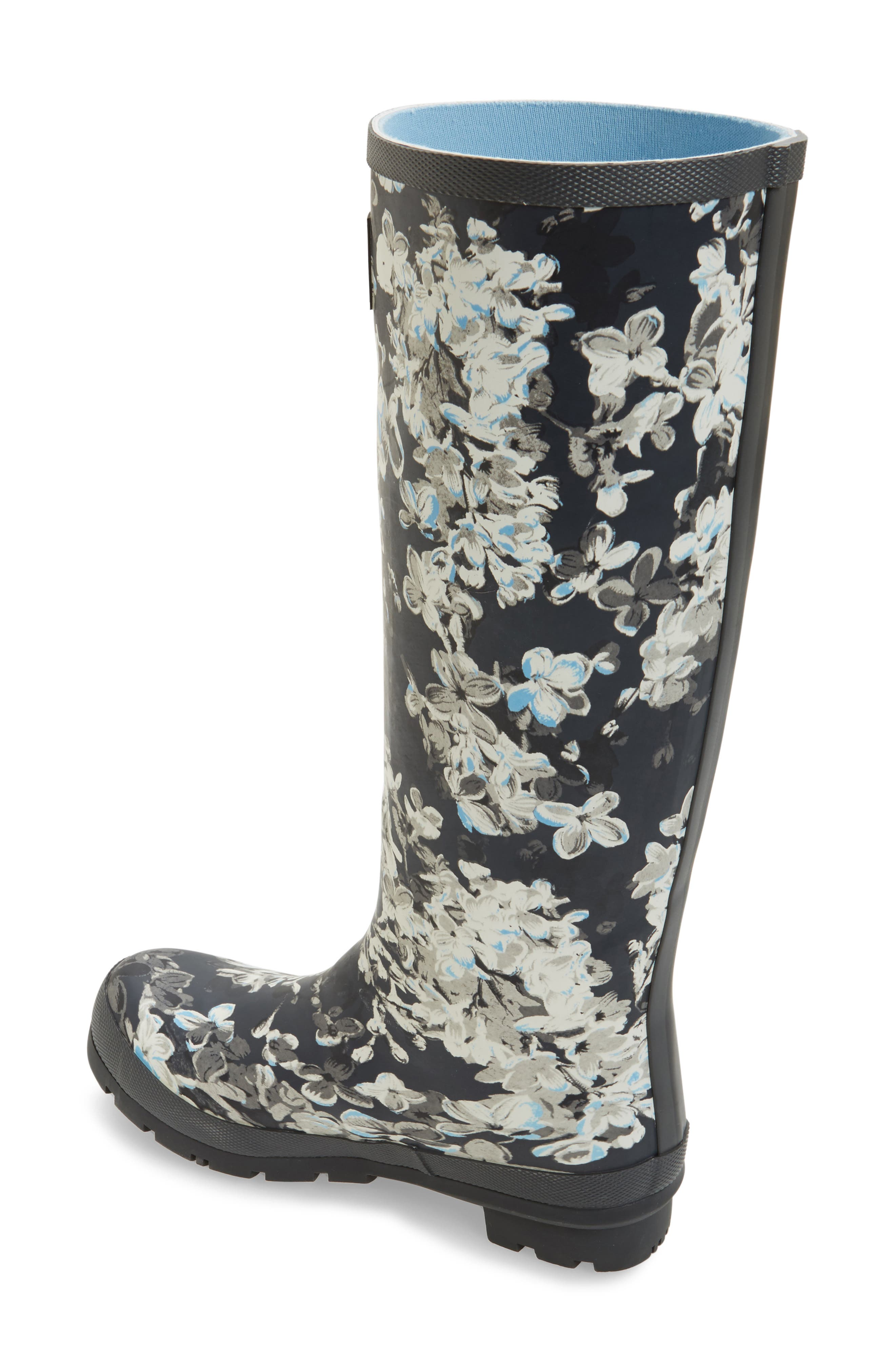 'Welly' Print Rain Boot,                             Alternate thumbnail 57, color,