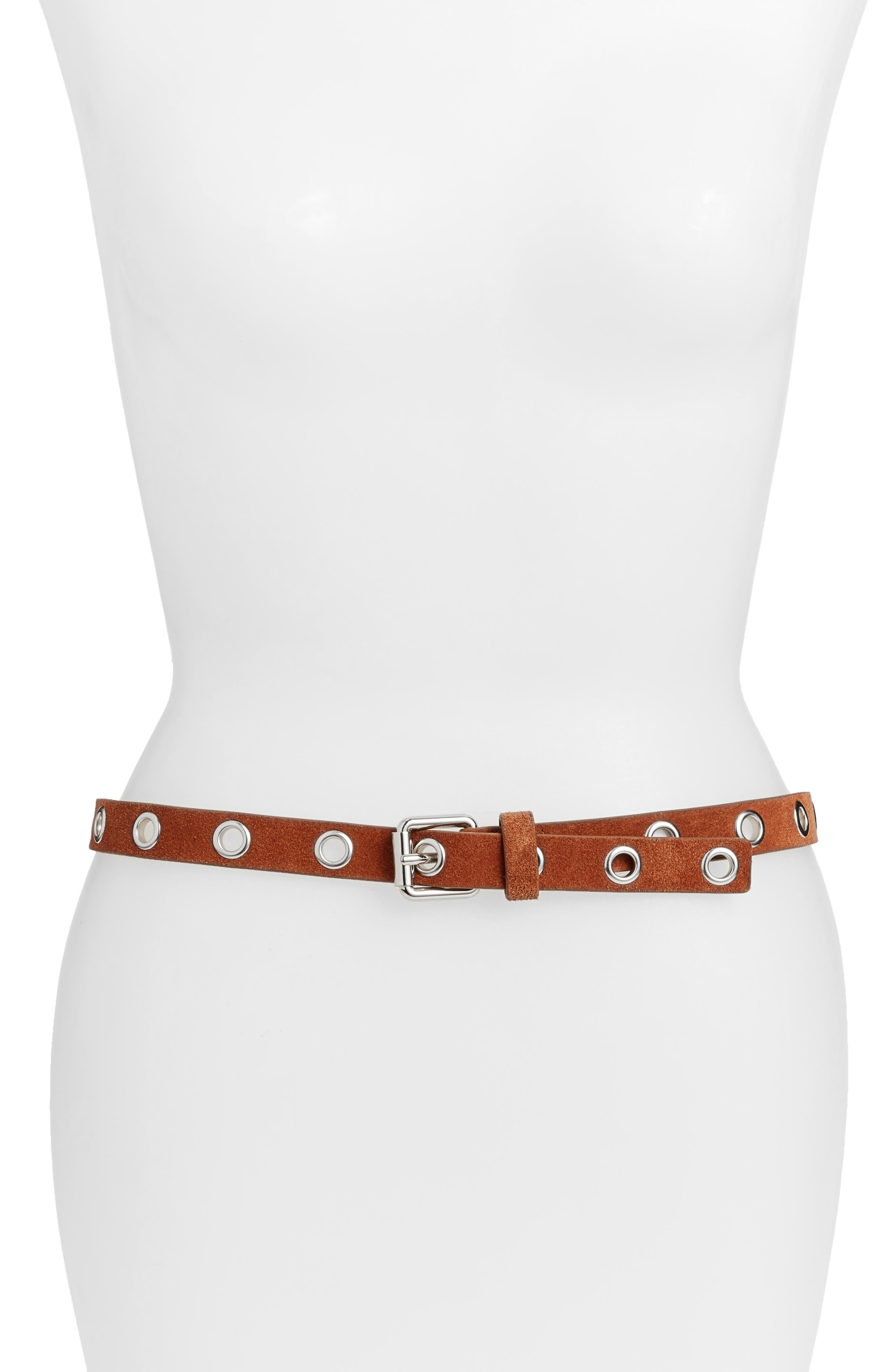 Diana Skinny Belt,                             Main thumbnail 2, color,