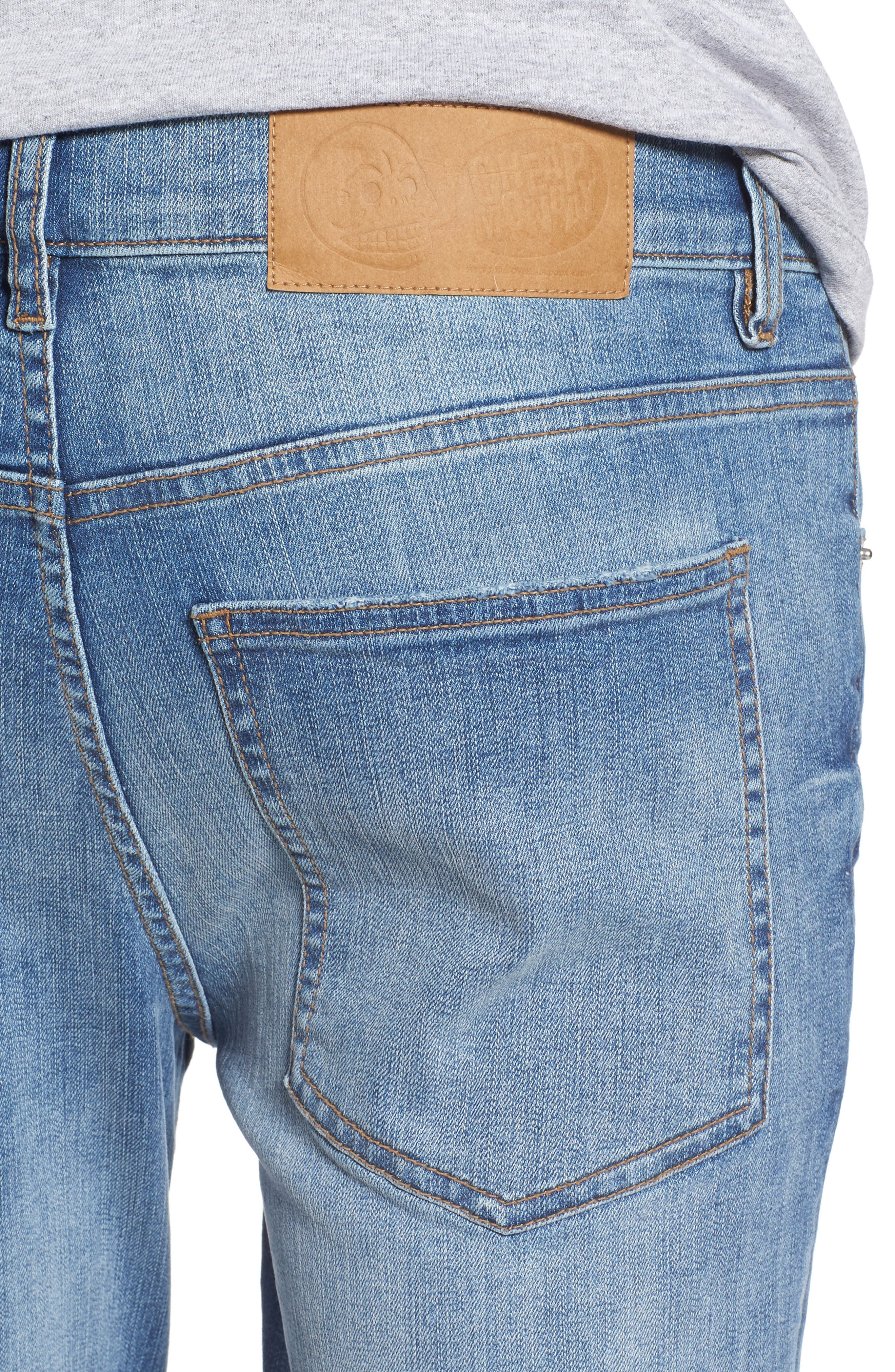 Tight Skinny Fit Jeans,                             Alternate thumbnail 4, color,                             428