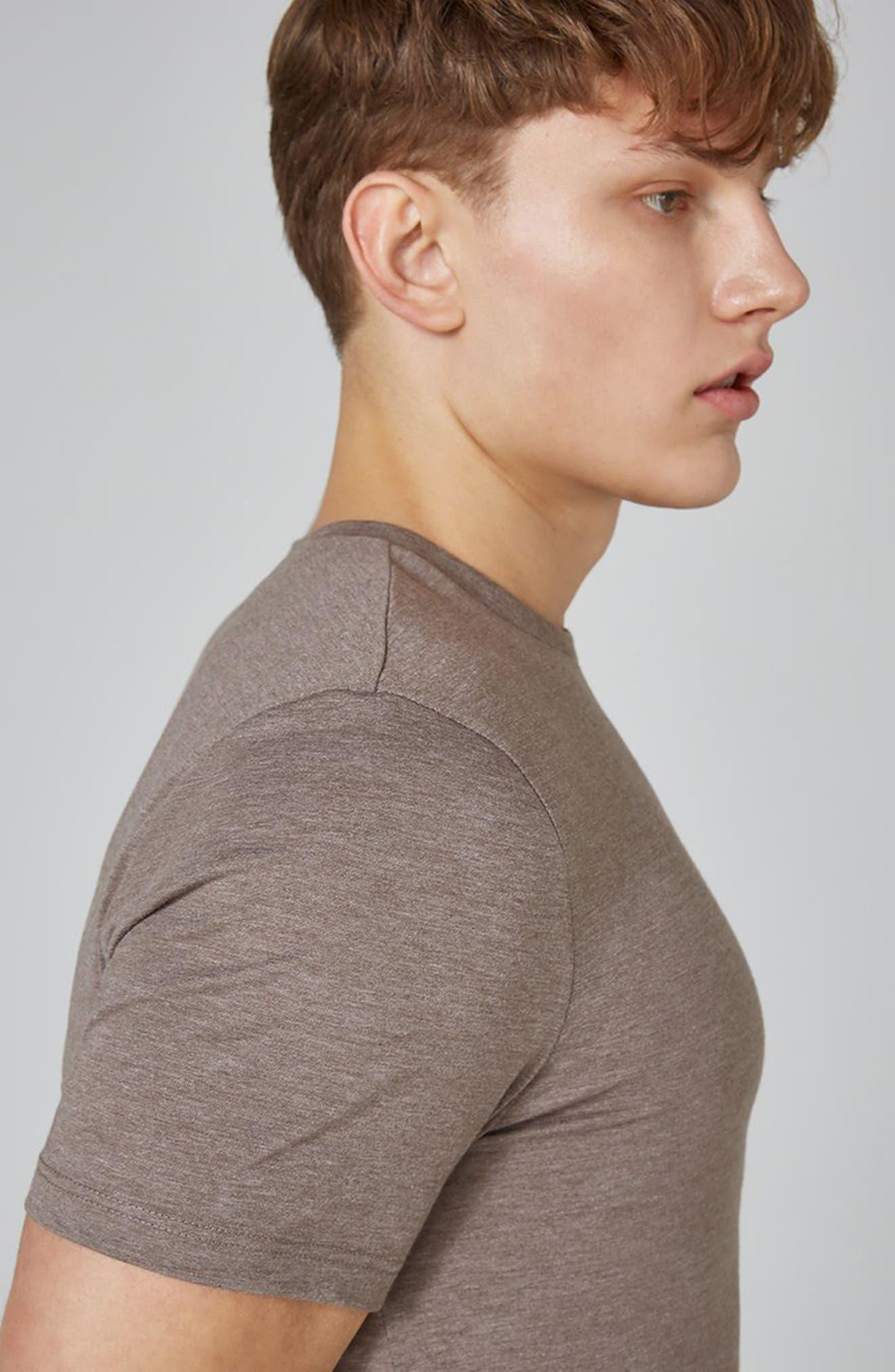Slim Fit Crewneck T-Shirt,                             Alternate thumbnail 290, color,