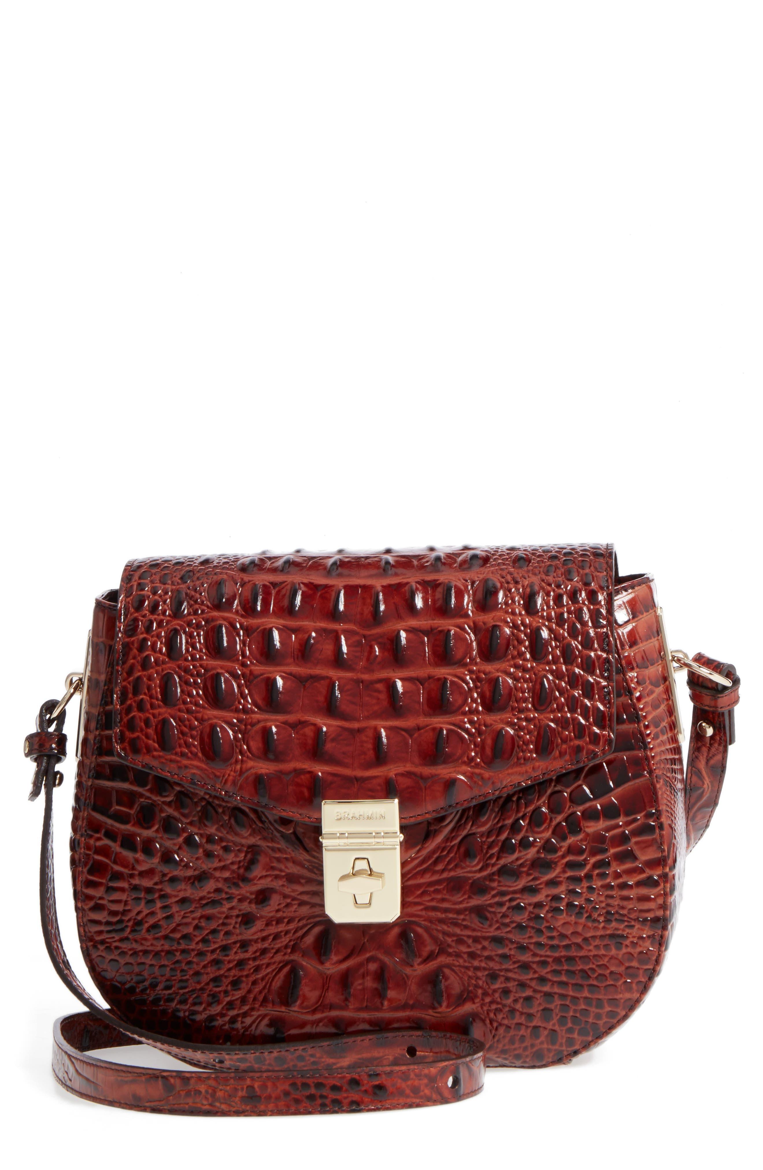 Melbourne - Lizzie Leather Crossbody Bag,                             Main thumbnail 2, color,