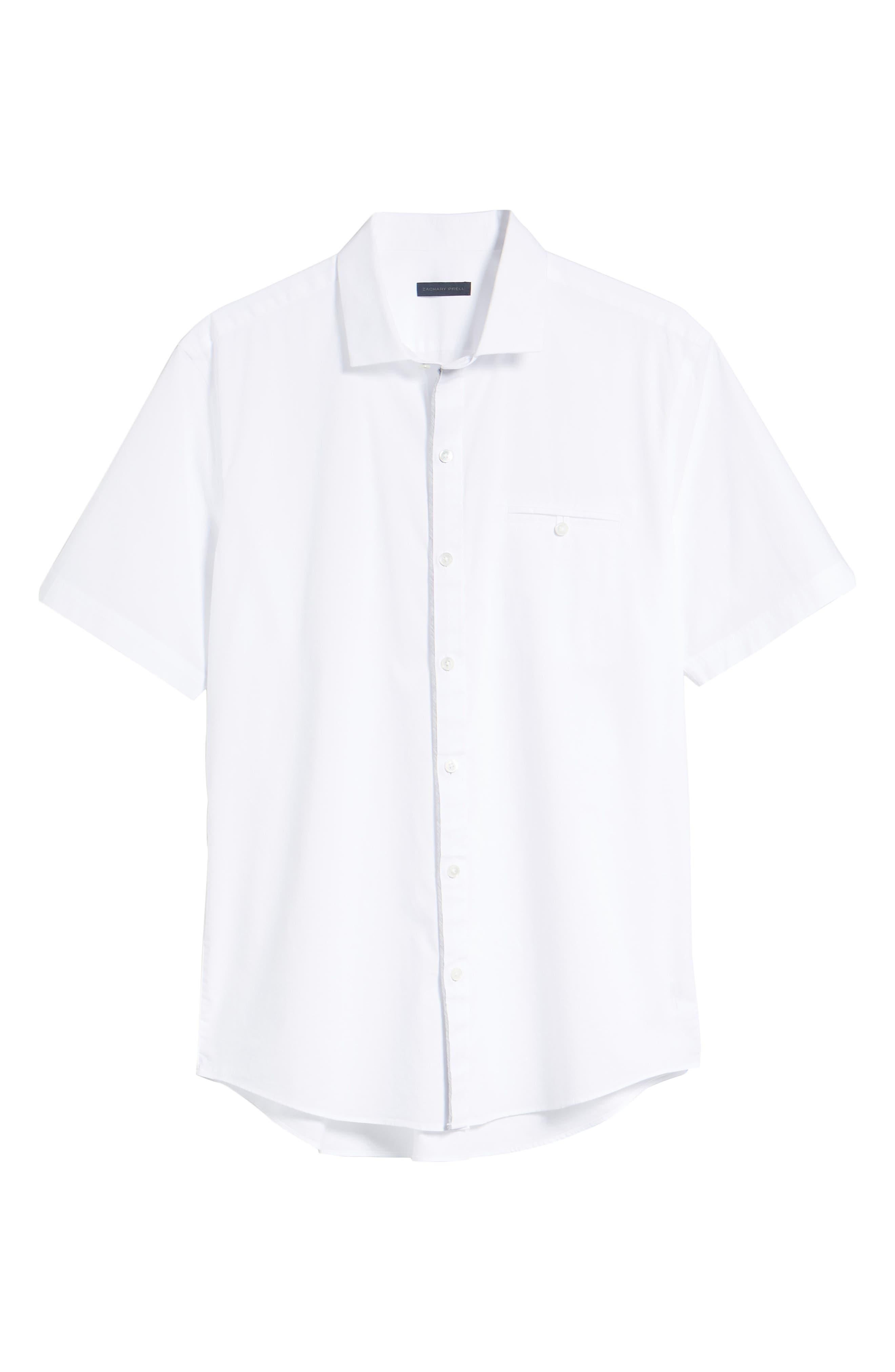 Baumann Slim Fit Sport Shirt,                             Alternate thumbnail 6, color,                             100