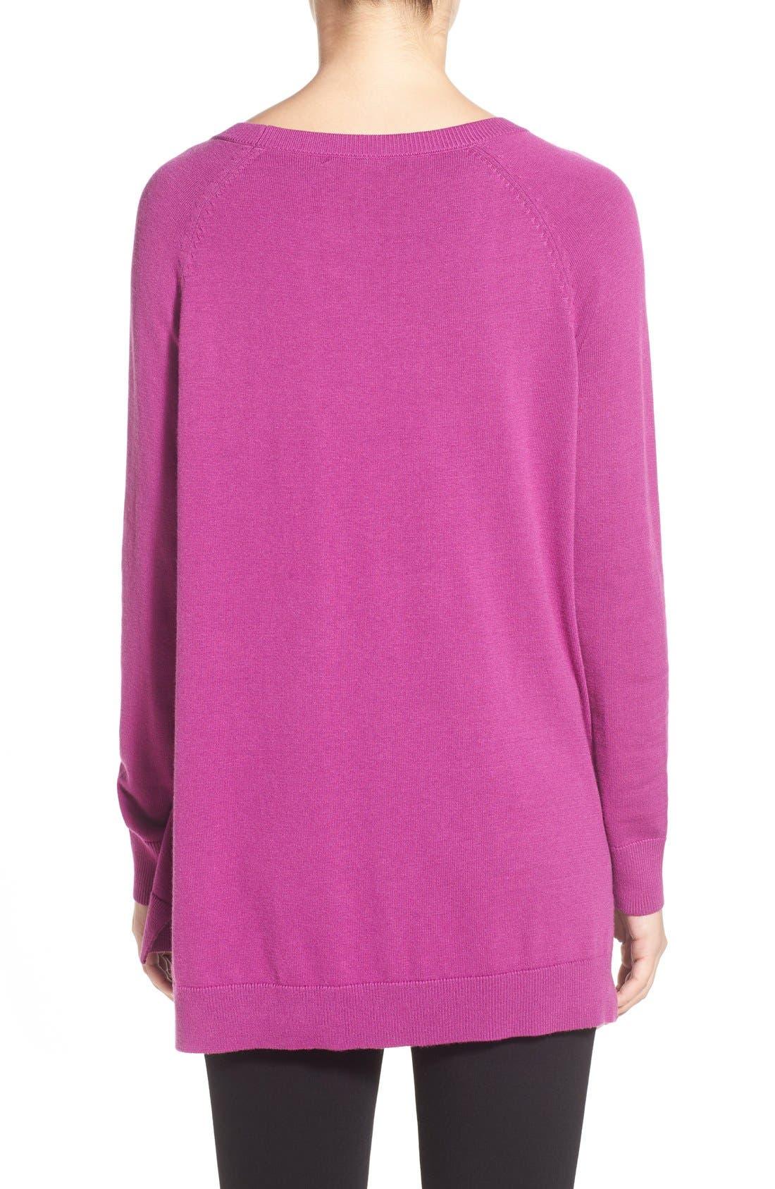 Raglan Crewneck Sweater,                             Alternate thumbnail 5, color,                             510