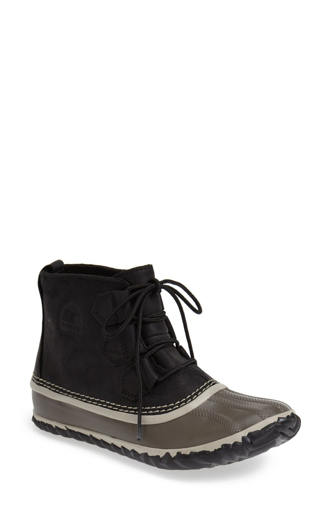 'Out N About' Leather Boot,                             Main thumbnail 5, color,