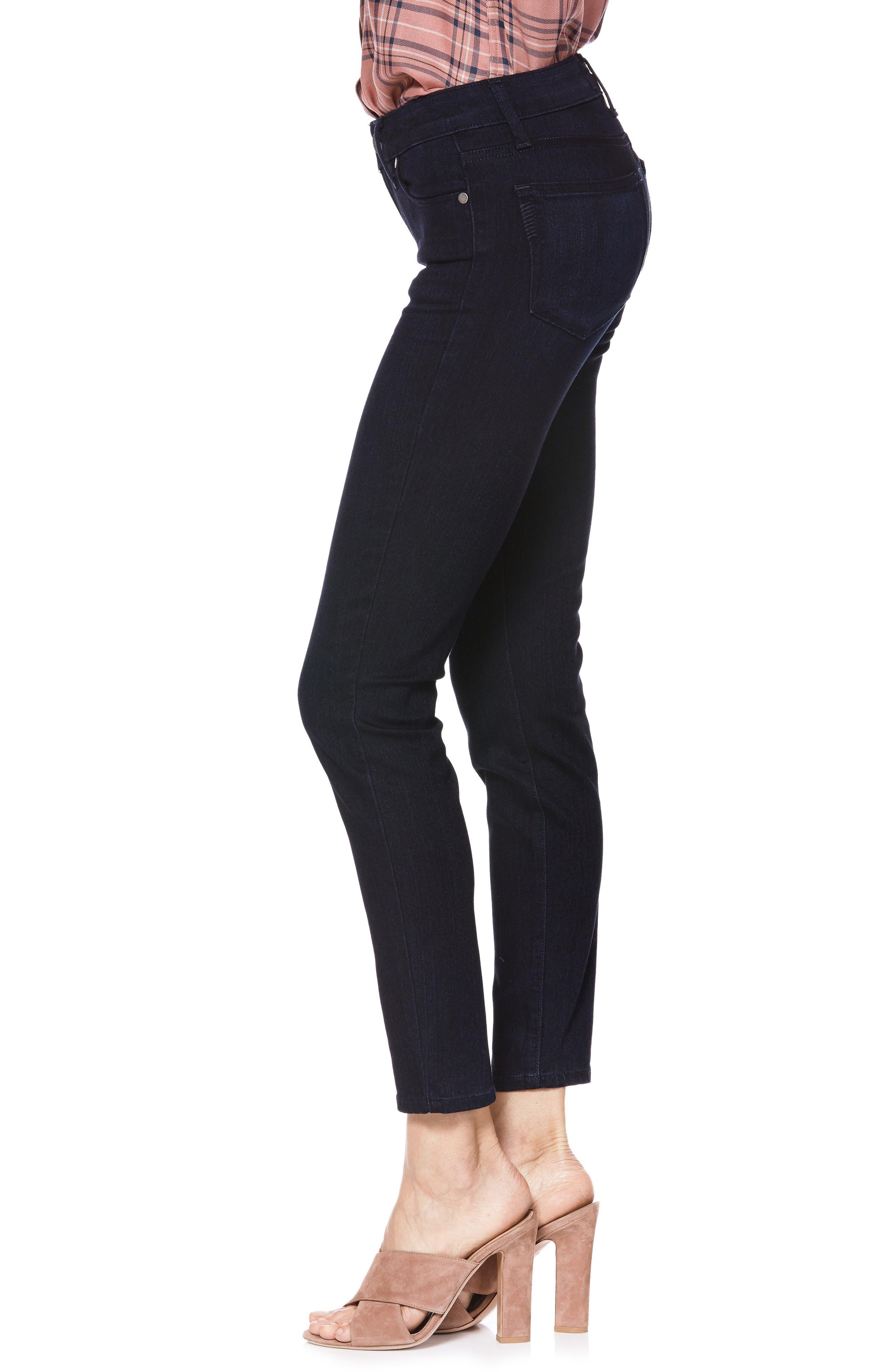 Transcend - Verdugo Ankle Skinny Jeans,                             Alternate thumbnail 3, color,                             LANA