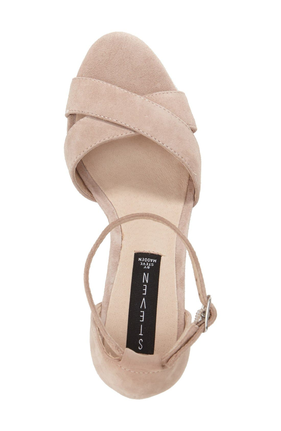 'Voomme' Ankle Strap Sandal,                             Alternate thumbnail 8, color,
