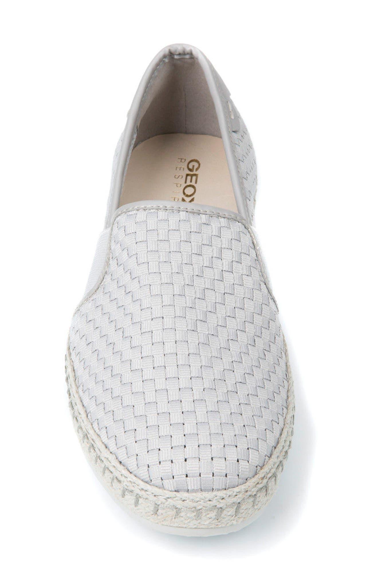 Copacaban 10 Woven Slip-On Sneaker,                             Alternate thumbnail 4, color,                             050
