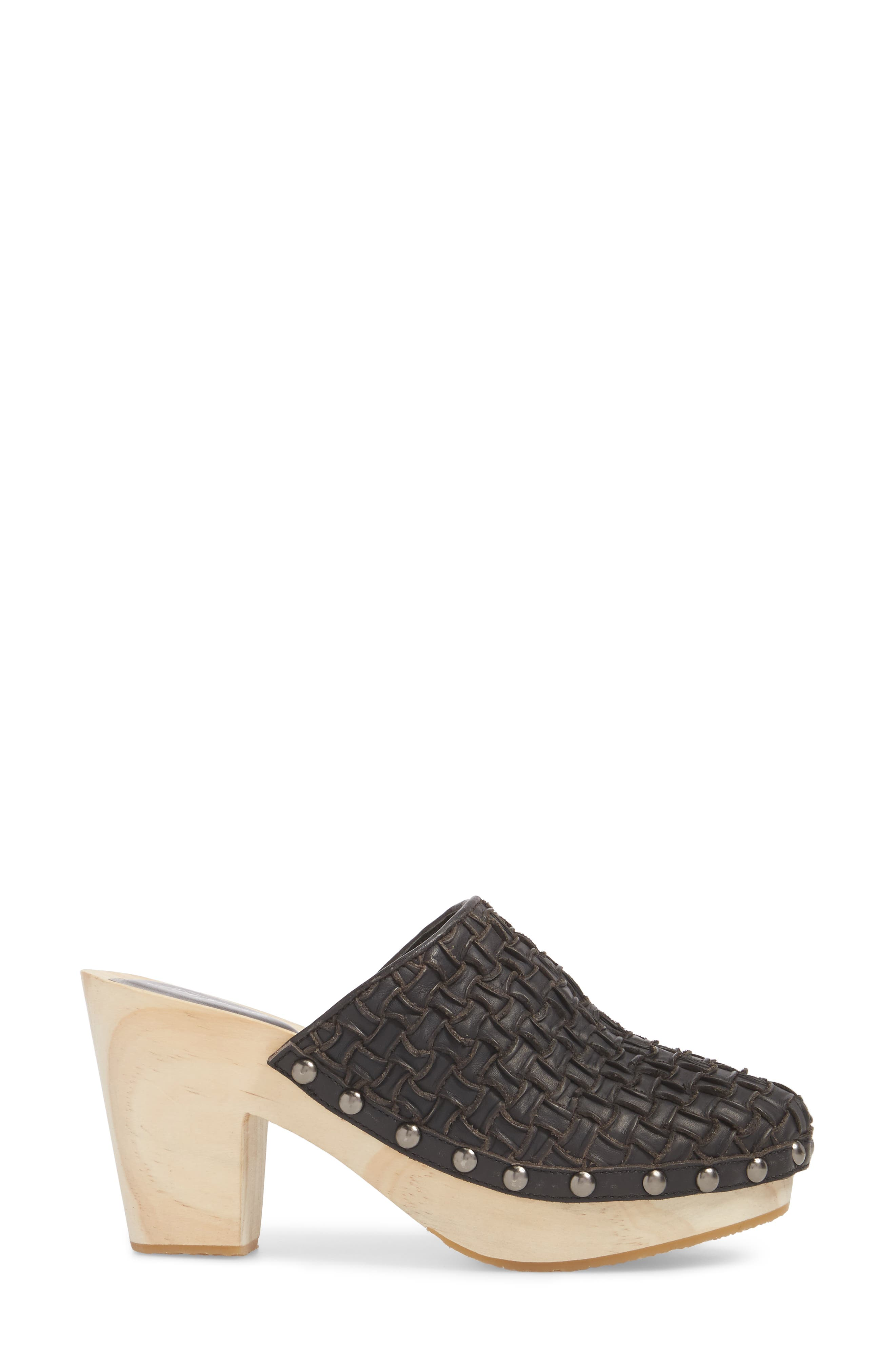 FREE PEOPLE,                             Adelaide Clog,                             Alternate thumbnail 3, color,                             001