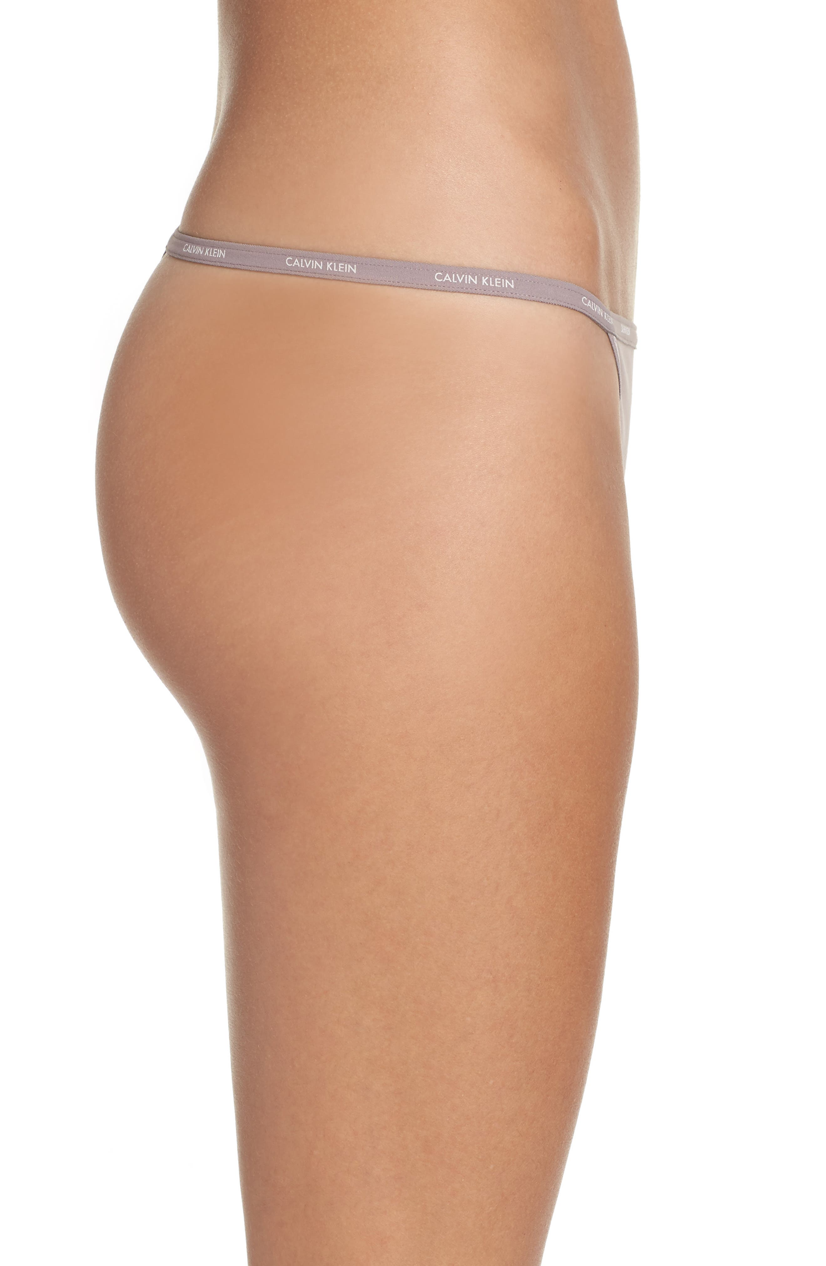 Marquisette String Thong,                             Alternate thumbnail 3, color,                             599