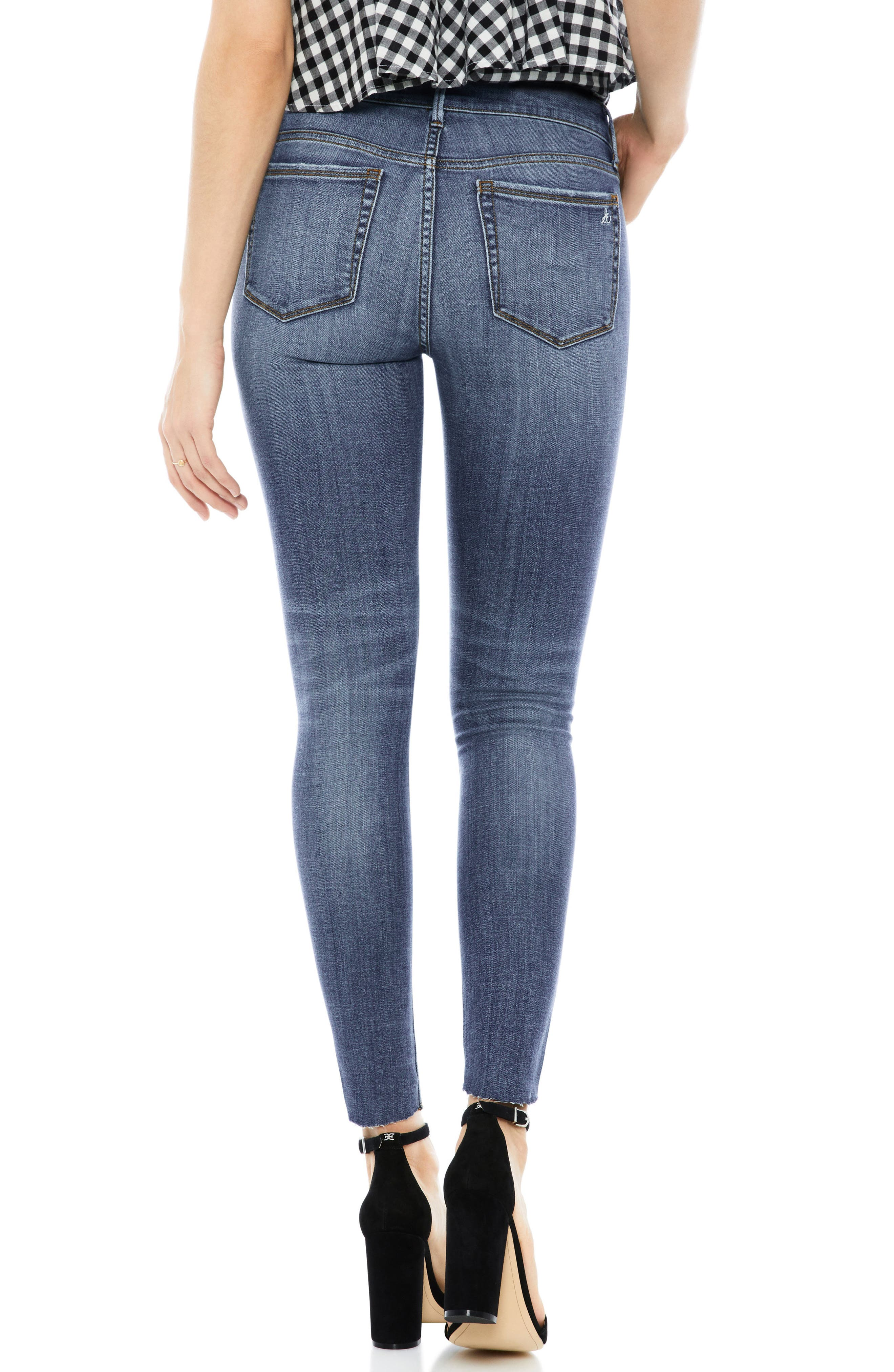 The Kitten Ankle Jeans,                             Alternate thumbnail 2, color,                             AMELIA