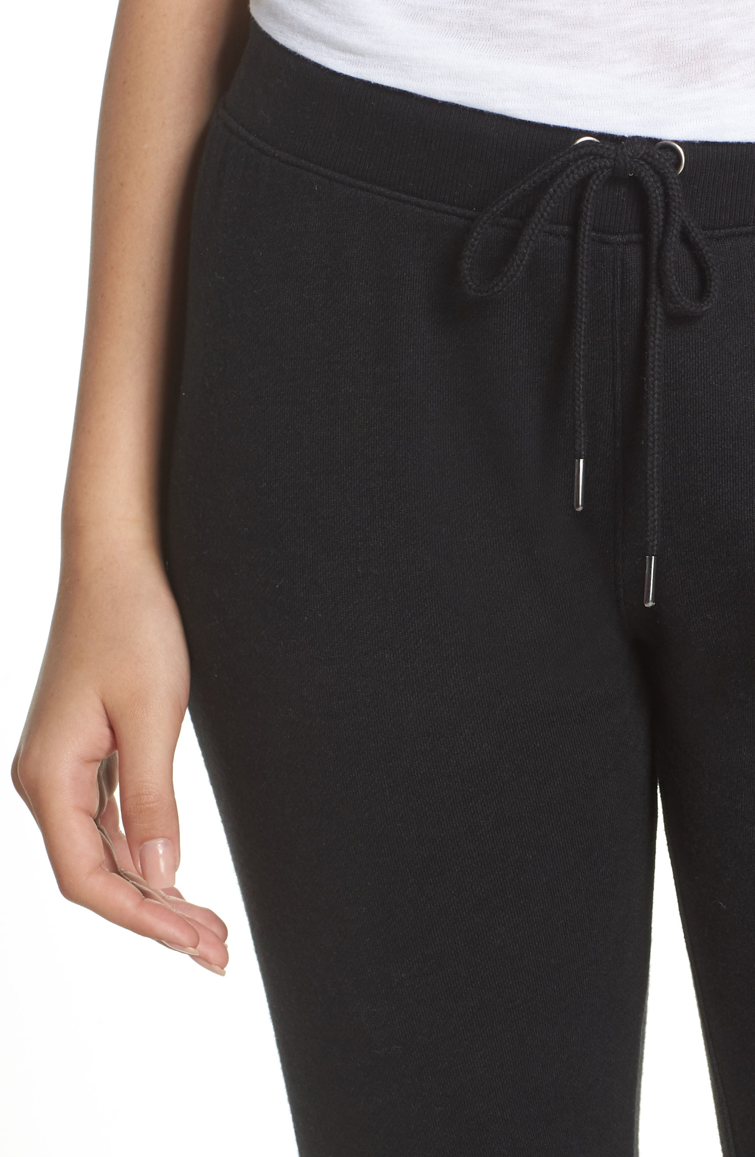 Loung Sweatpants,                             Alternate thumbnail 4, color,                             FADED BLACK