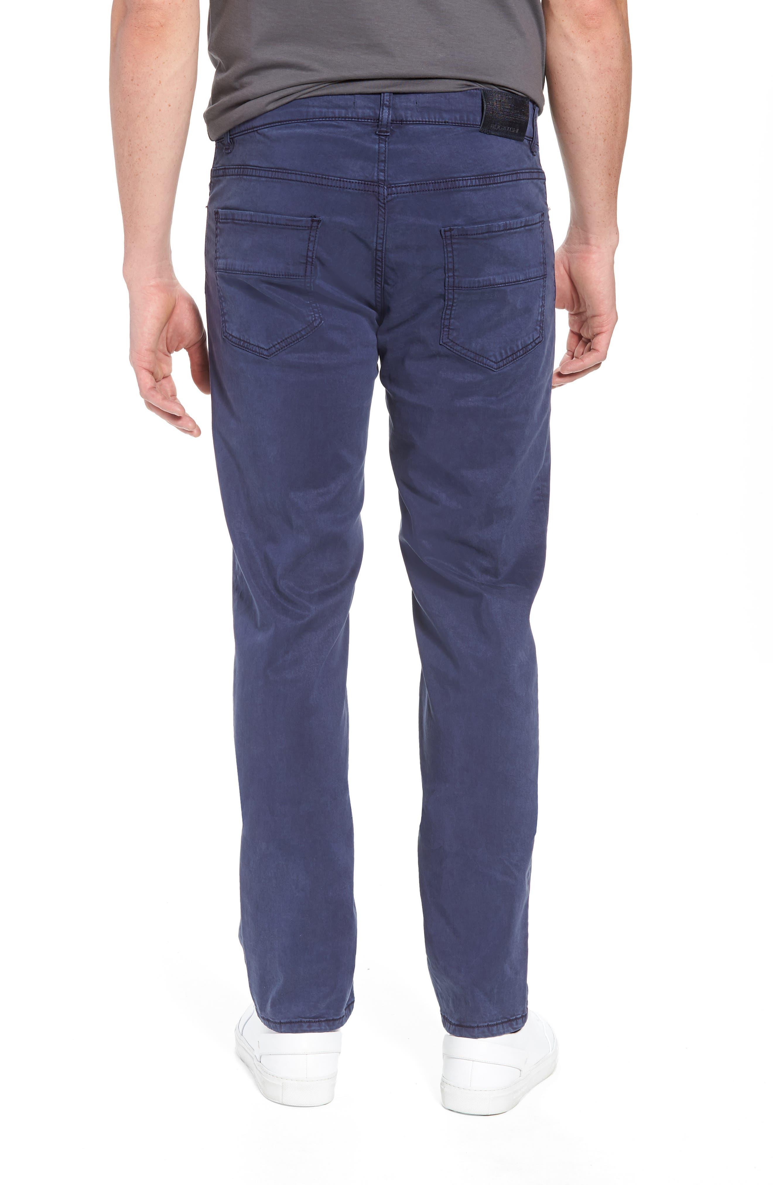 Slim Fit Washed Five-Pocket Pants,                             Alternate thumbnail 7, color,